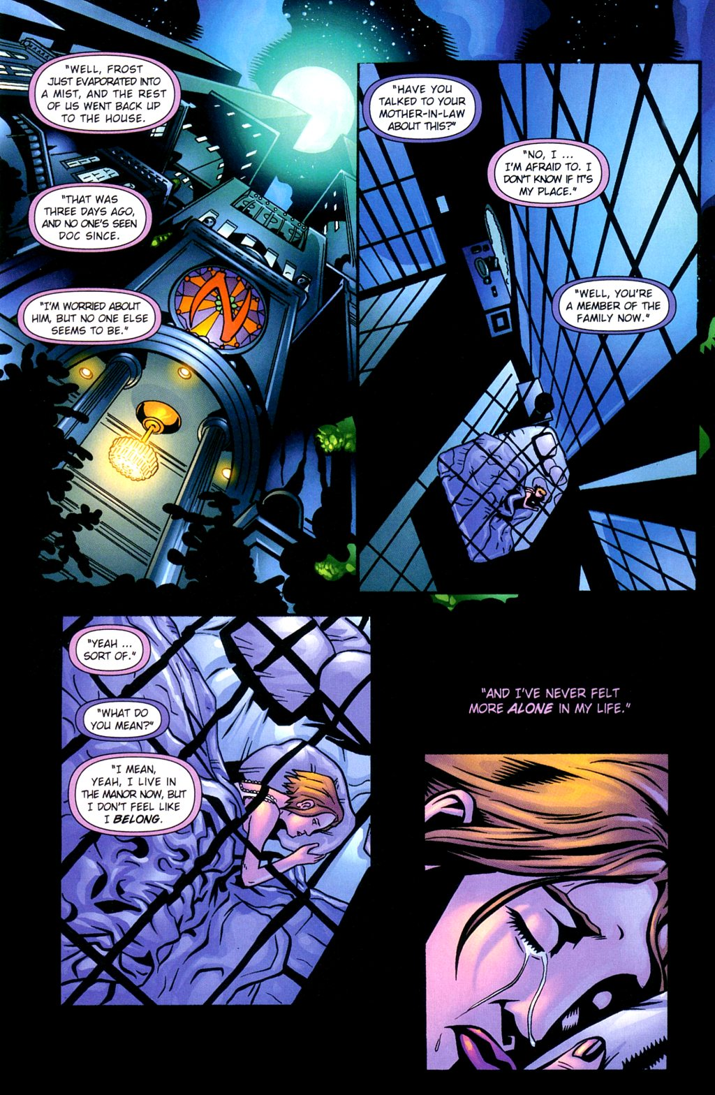 Read online Noble Causes (2002) comic -  Issue #2 - 16