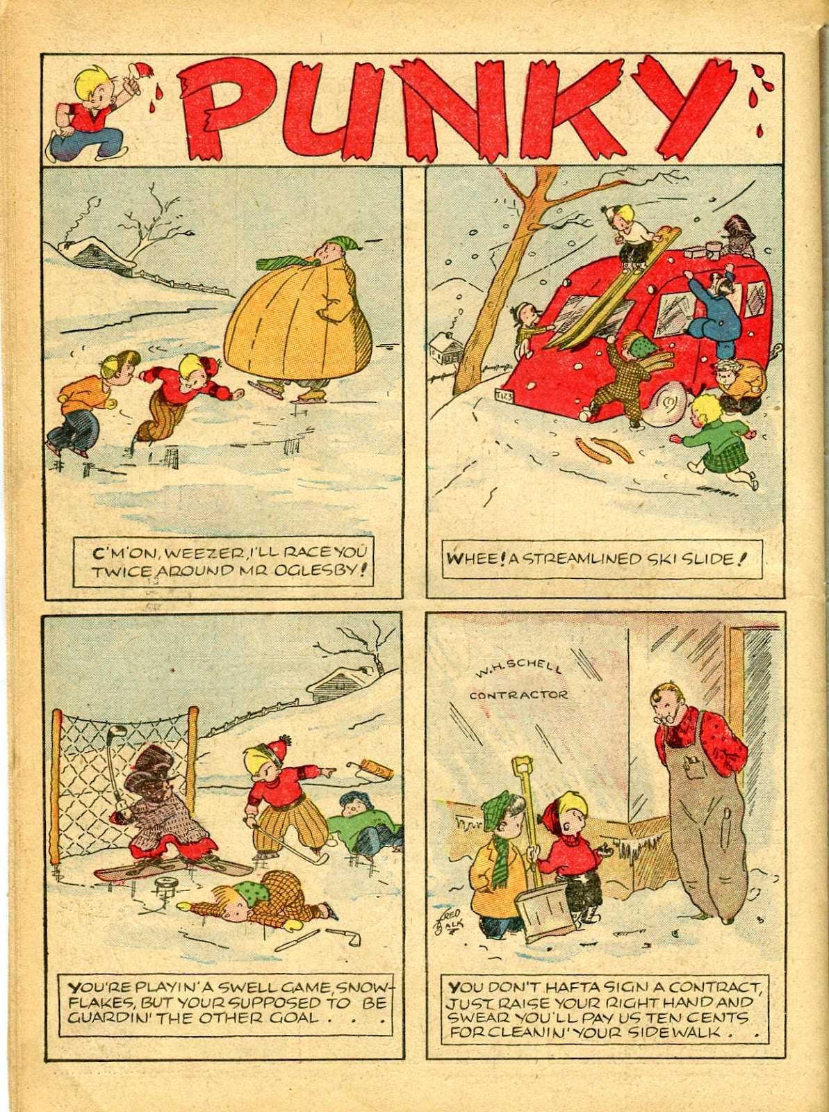 Read online Famous Funnies comic -  Issue #54 - 56
