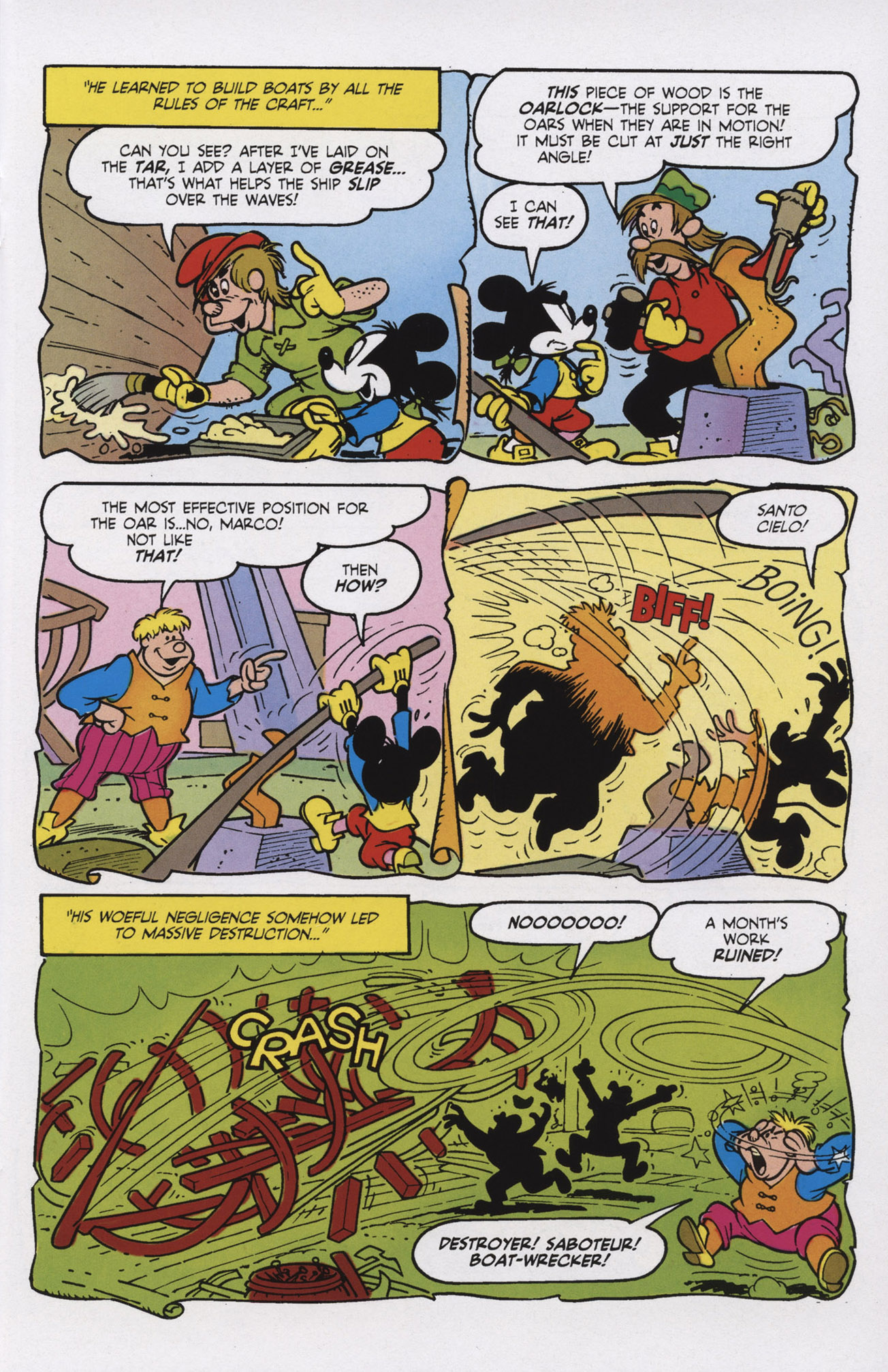 Read online Mickey Mouse (2011) comic -  Issue #309 - 13