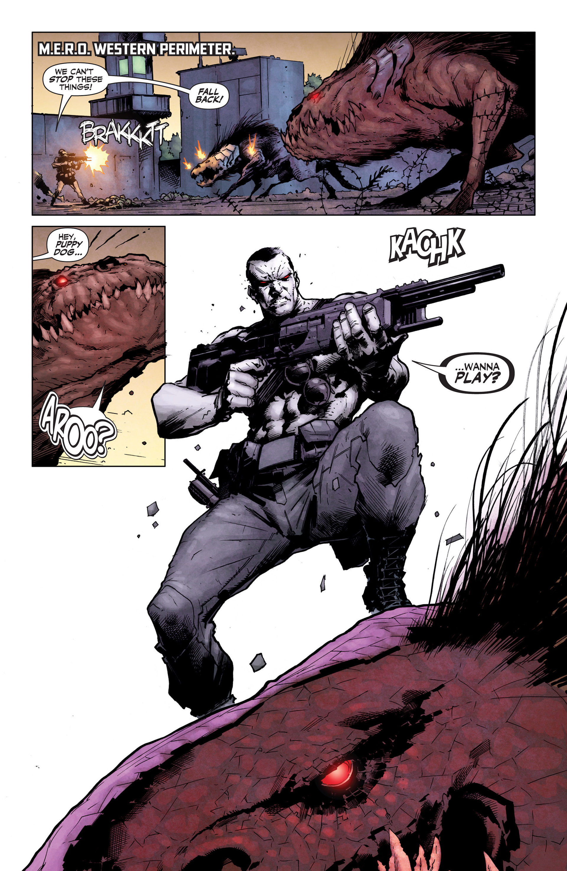 Read online Armor Hunters: Bloodshot comic -  Issue #1 - 18