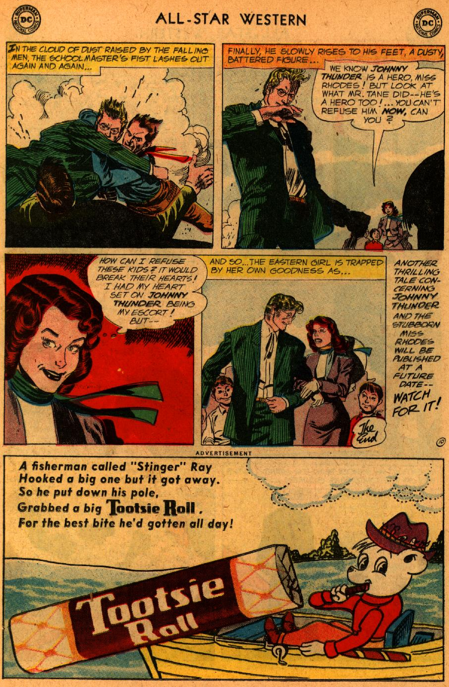 Read online All-Star Western (1951) comic -  Issue #107 - 12