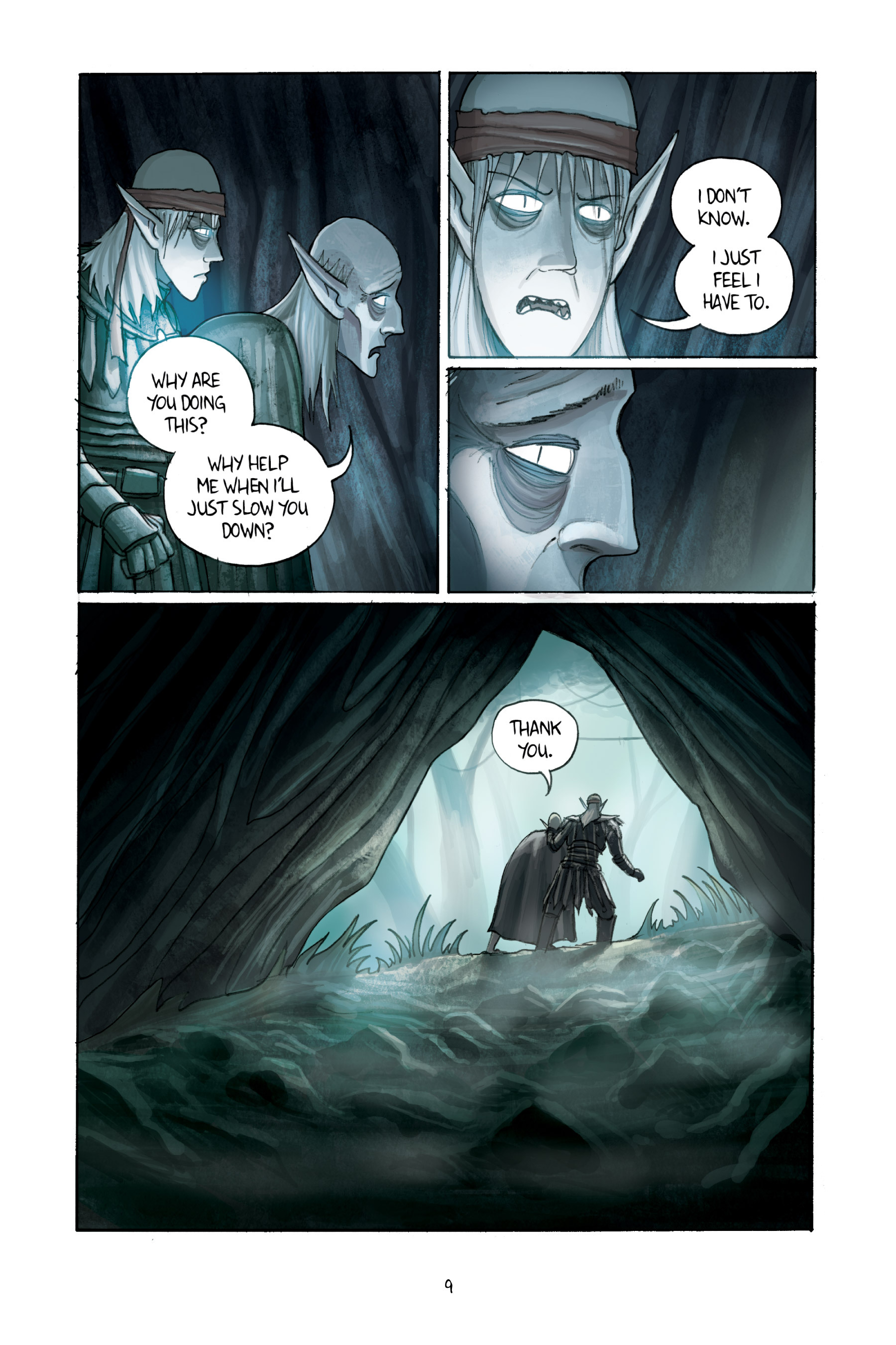Read online Amulet comic -  Issue #3 - 11