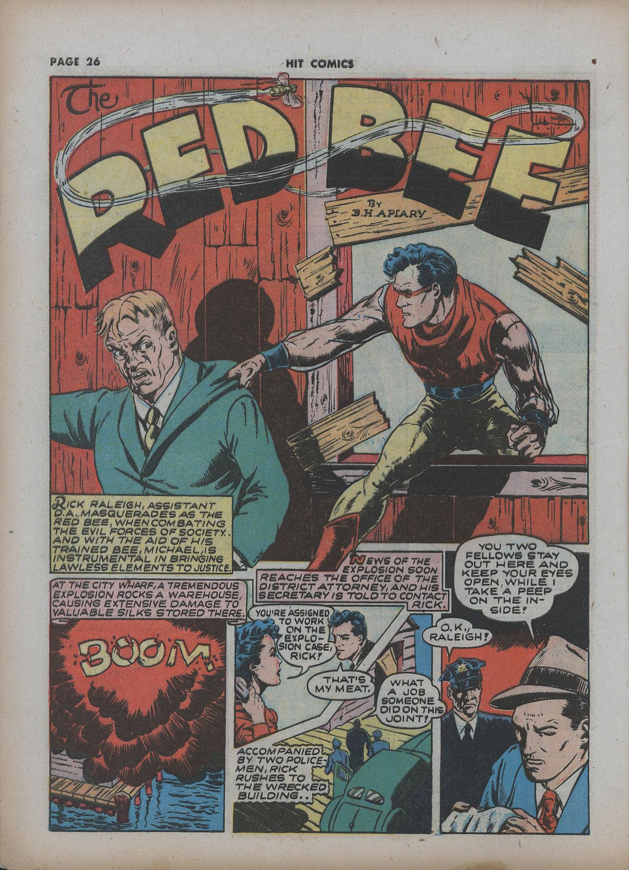 Read online Hit Comics comic -  Issue #22 - 28