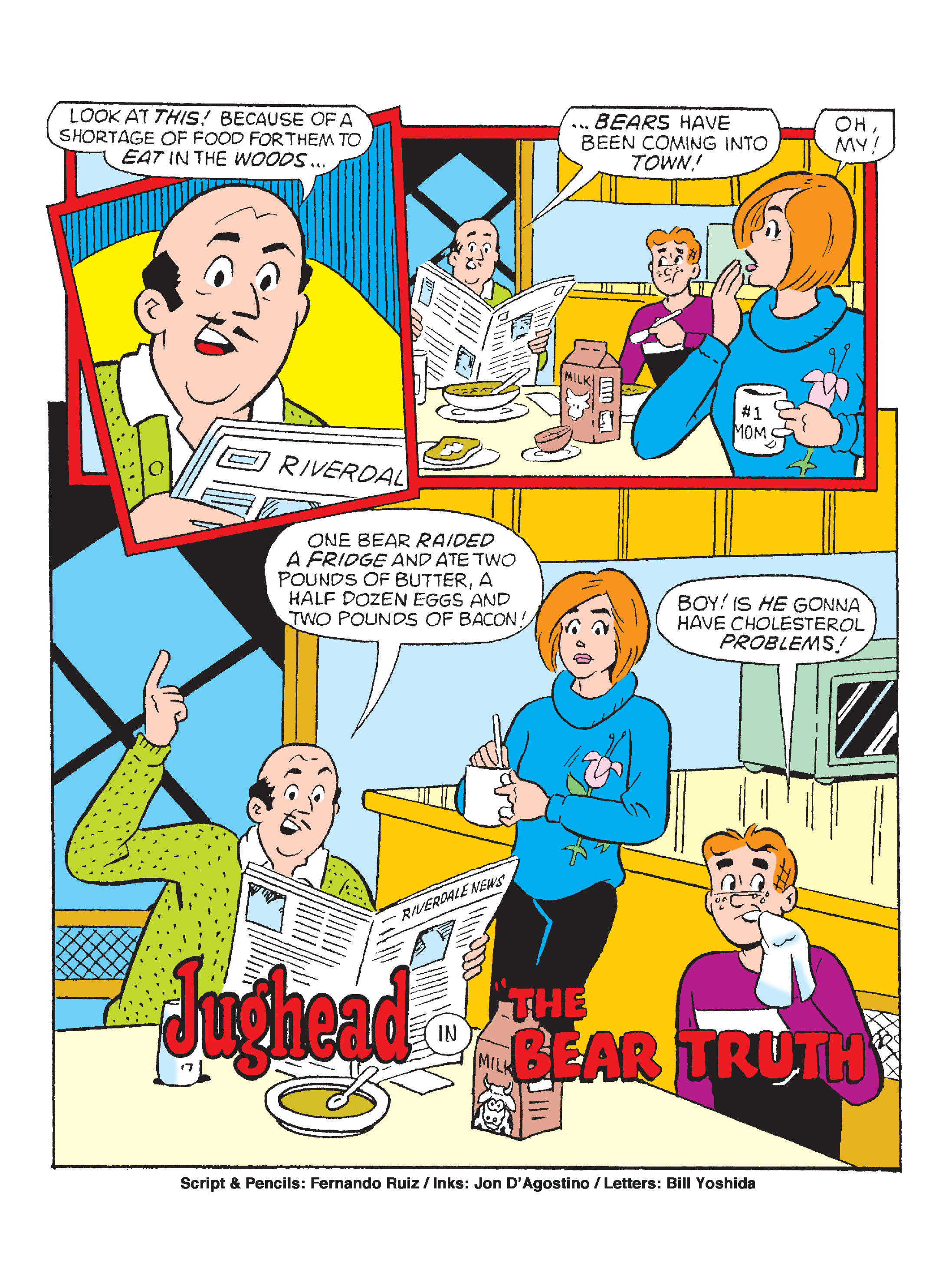 Read online World of Archie Double Digest comic -  Issue #64 - 120