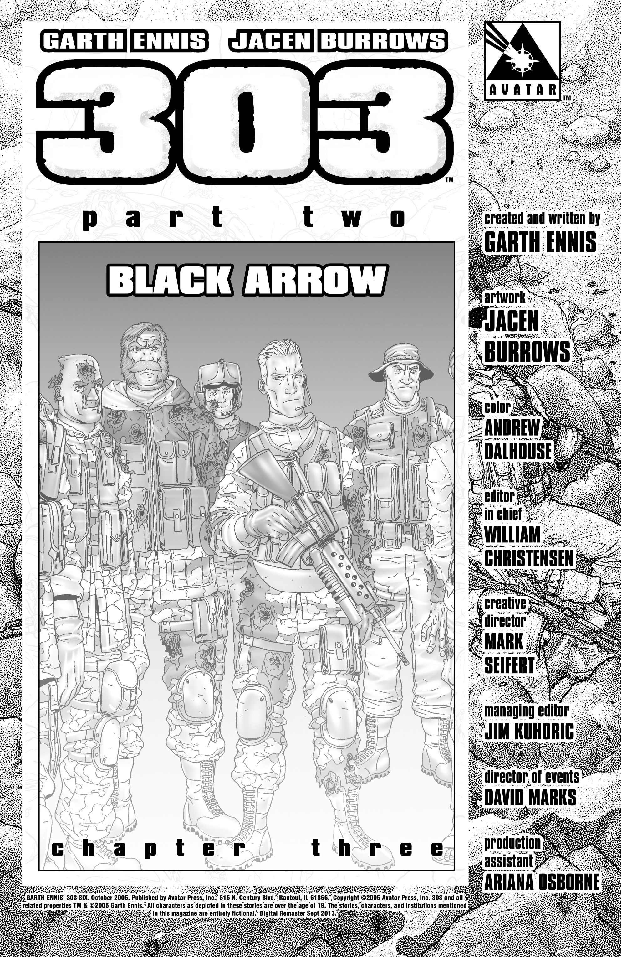 Read online 303 comic -  Issue #6 - 2