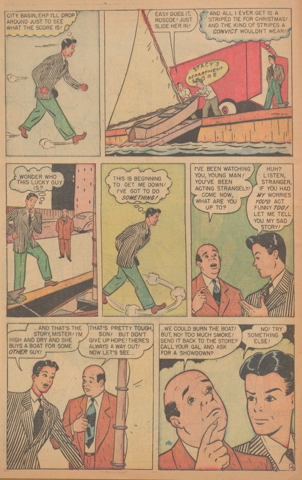 Read online Nellie The Nurse (1945) comic -  Issue #18 - 6