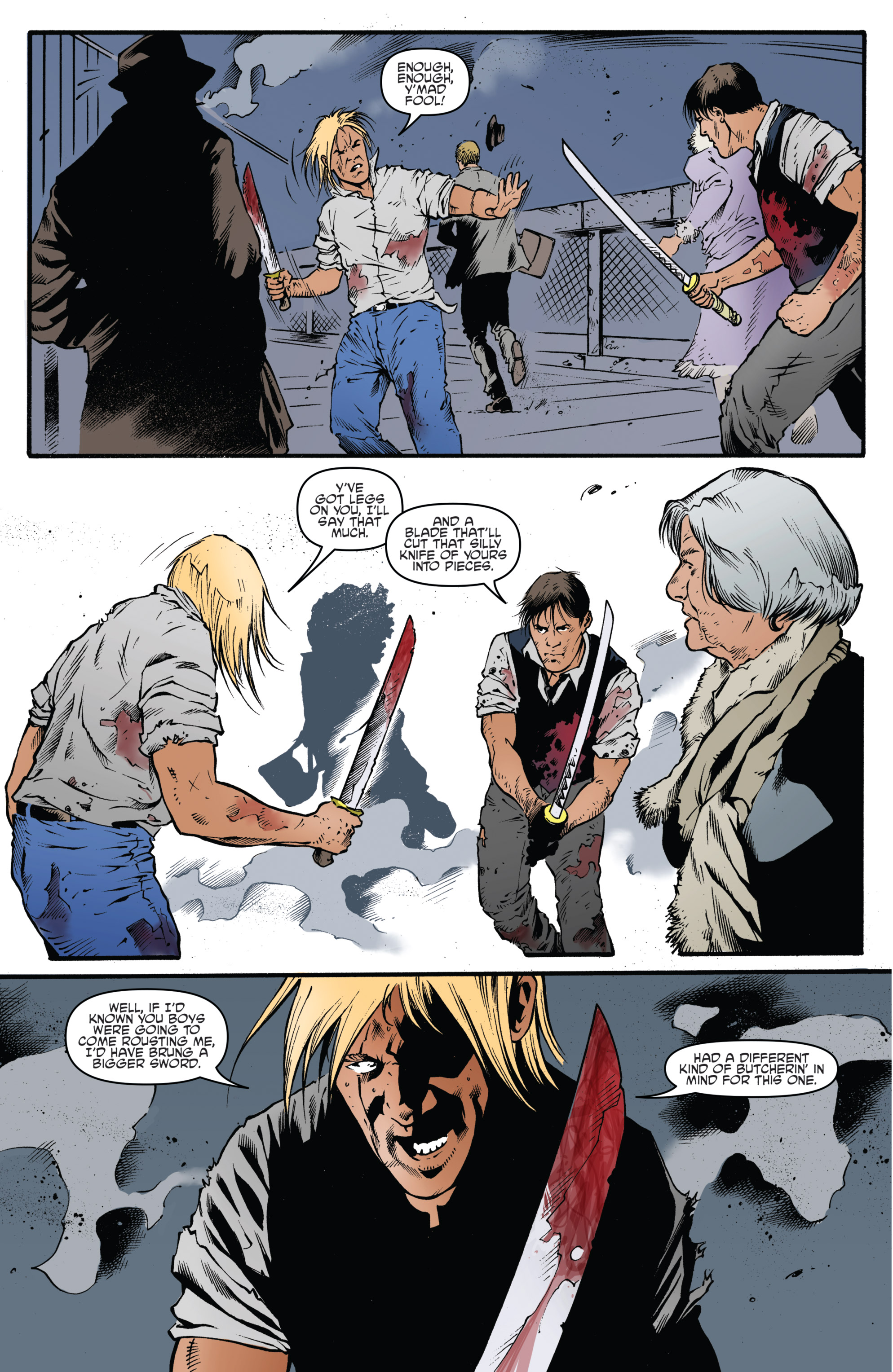 Read online Highlander: The American Dream comic -  Issue #4 - 6