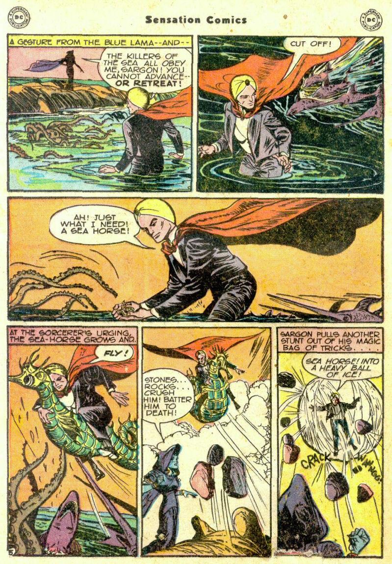 Read online Sensation (Mystery) Comics comic -  Issue #74 - 28