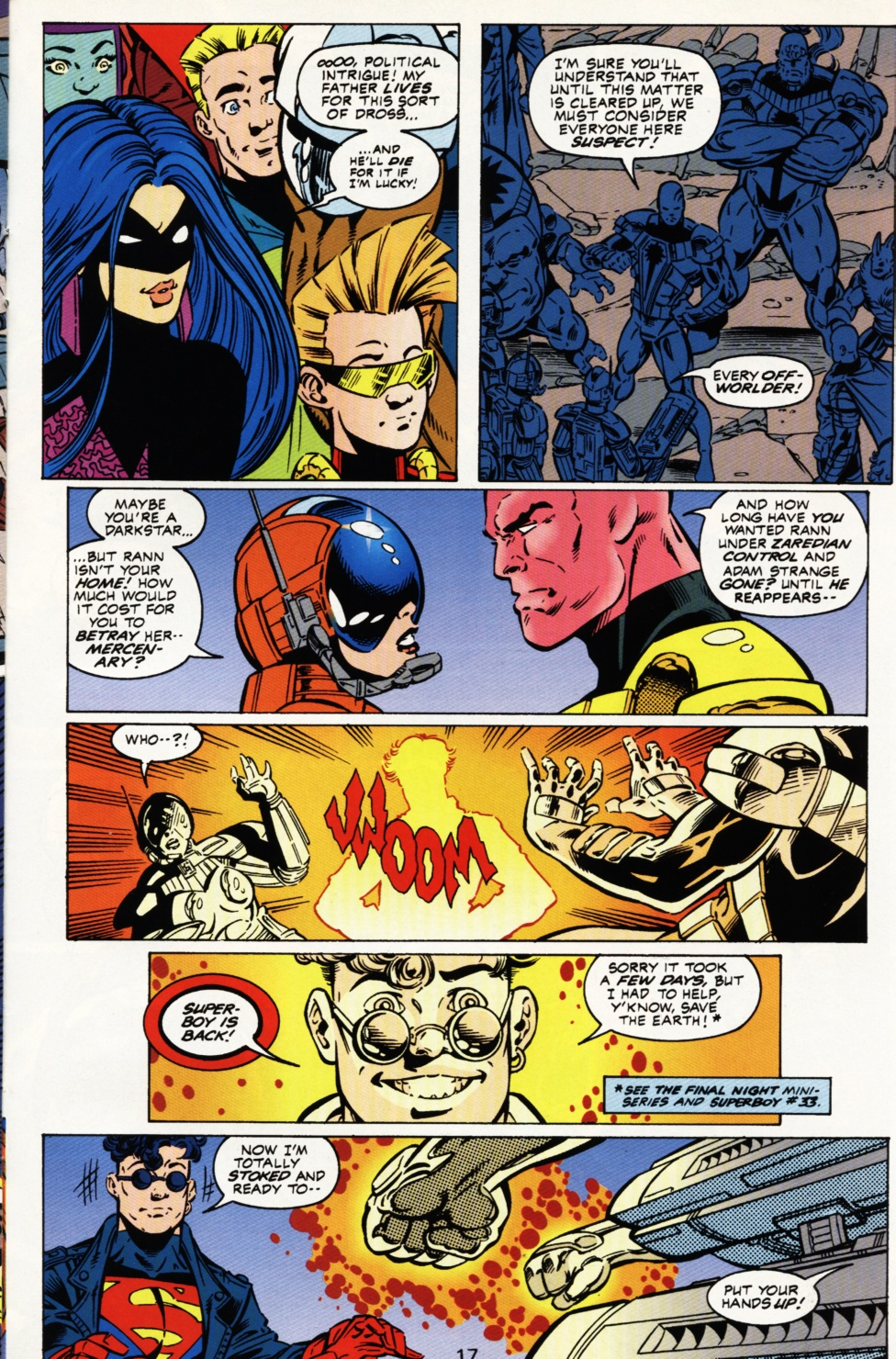 Read online Superboy & The Ravers comic -  Issue #3 - 18
