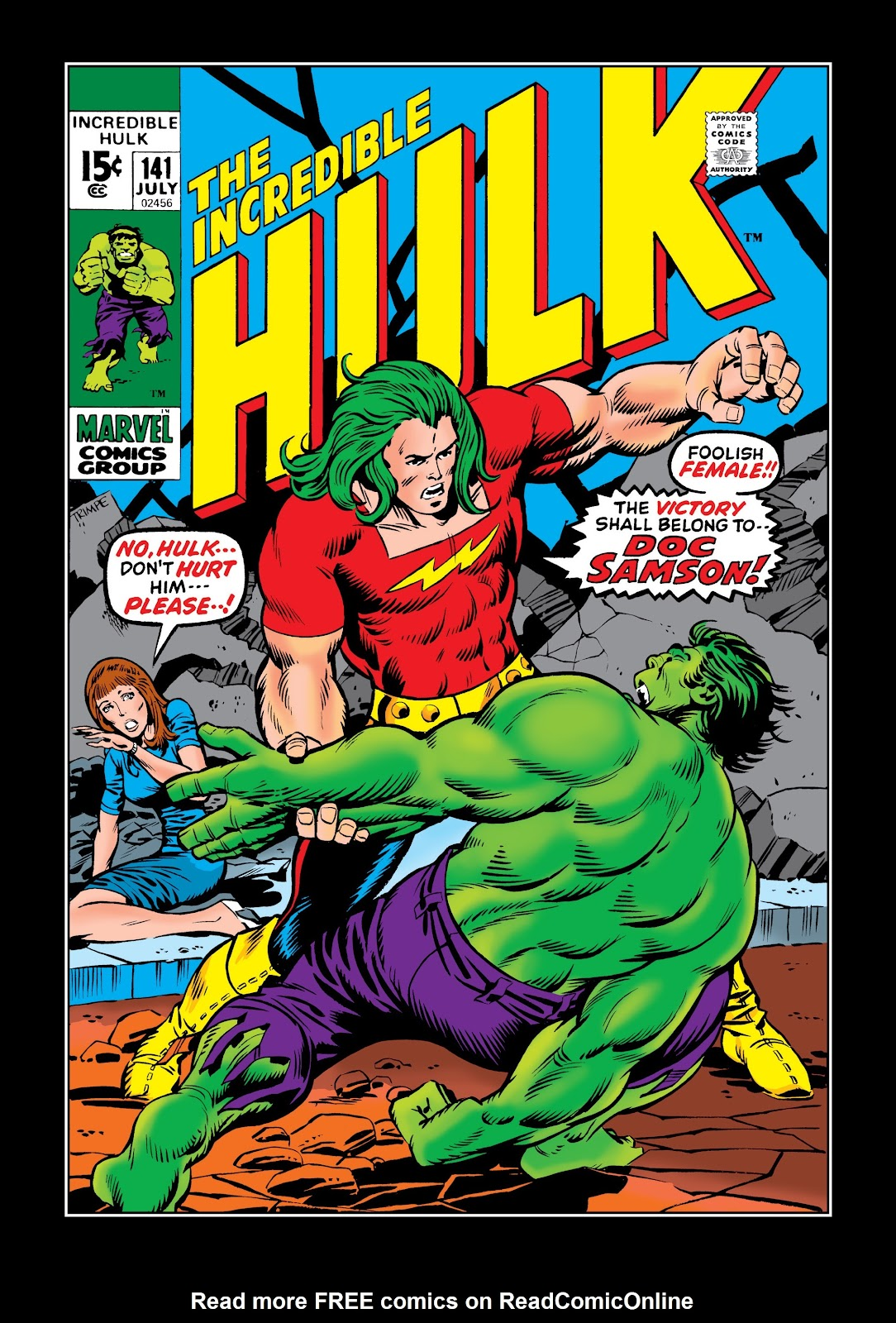 Read online Marvel Masterworks: The Incredible Hulk comic -  Issue # TPB 7 (Part 2) - 47
