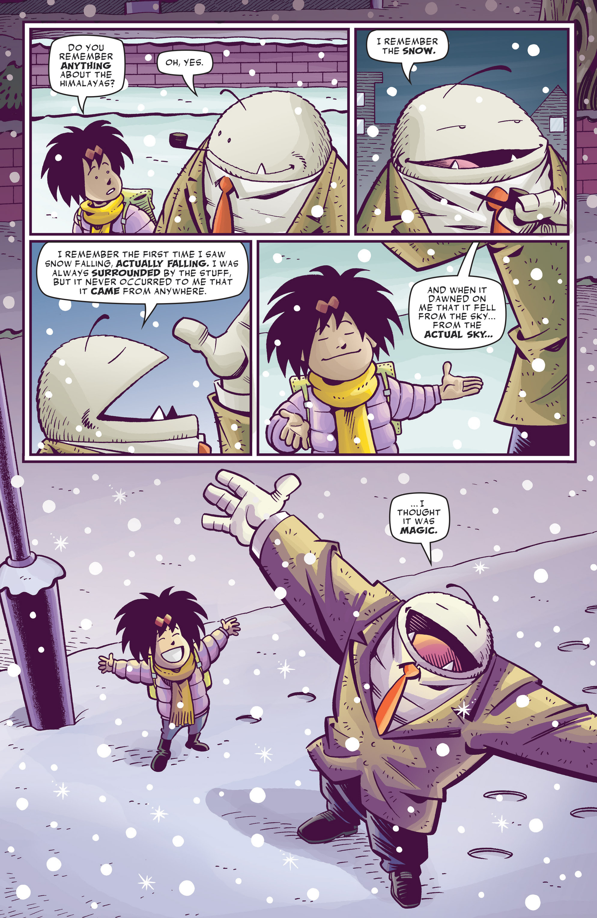 Read online Abigail And The Snowman comic -  Issue #4 - 7