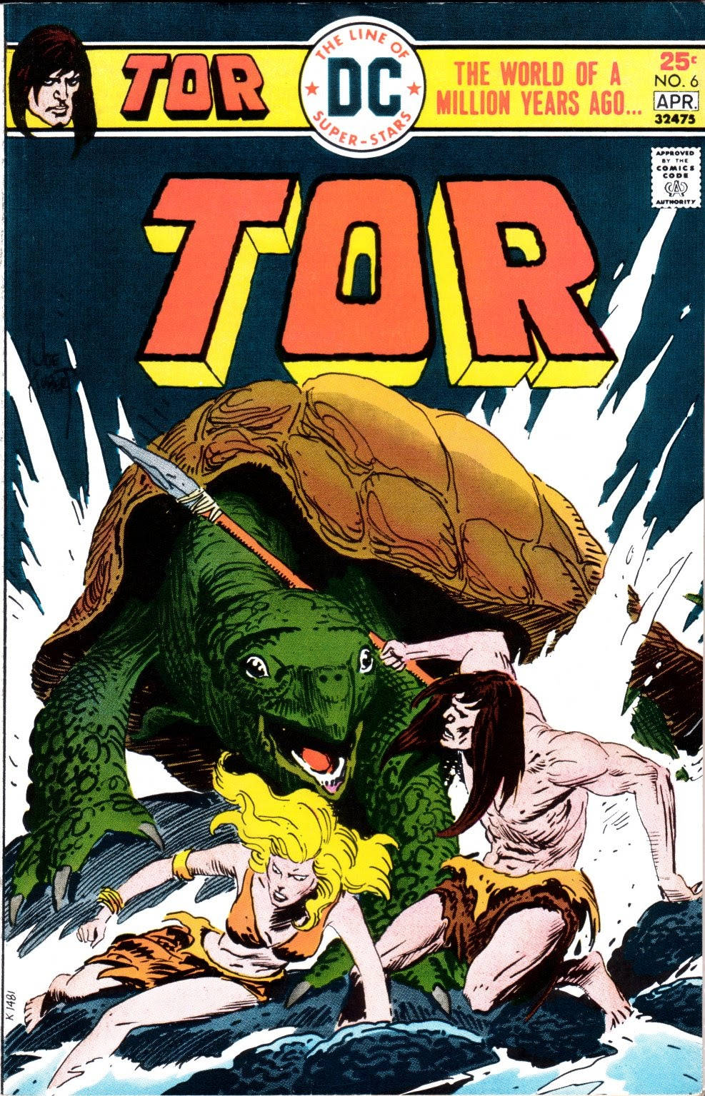 Tor (1975) 6 Page 1
