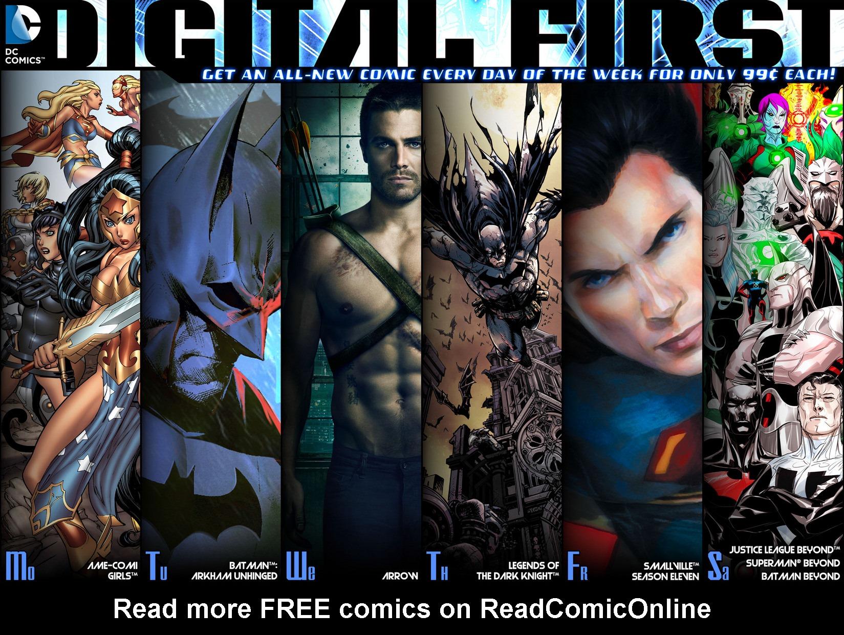 Read online Arrow [II] comic -  Issue #5 - 23