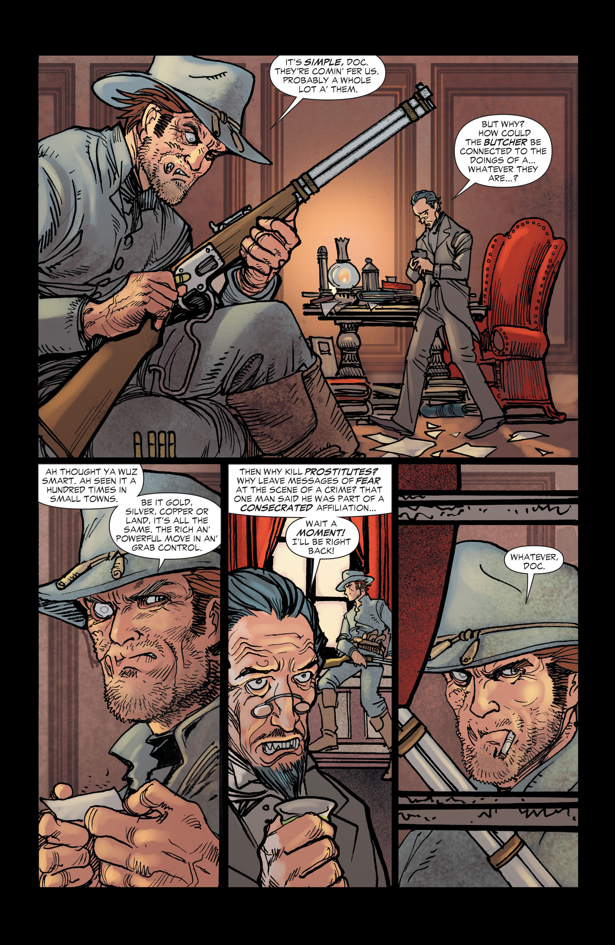 Read online All-Star Western (2011) comic -  Issue #2 - 3
