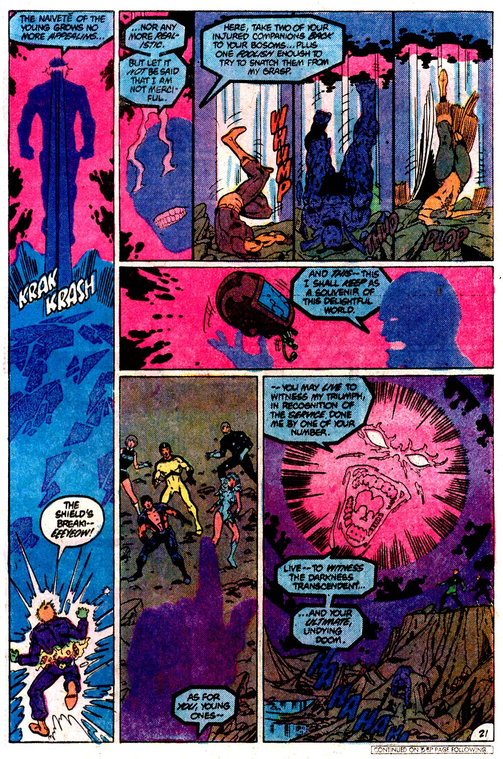 Legion of Super-Heroes (1980) 292 Page 21