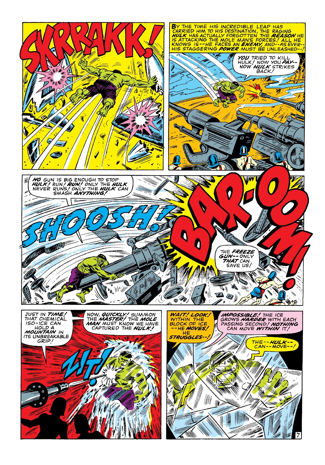 Read online Marvel Masterworks: The Incredible Hulk comic -  Issue # TPB 3 (Part 1) - 14