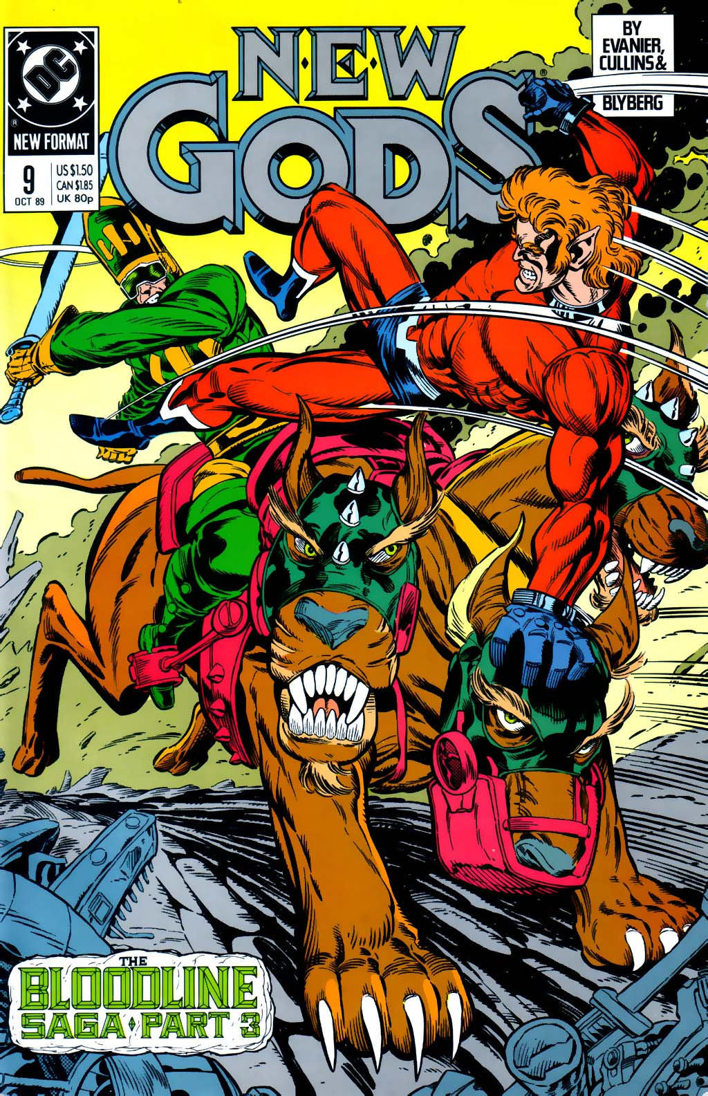 The New Gods (1989) 9 Page 1