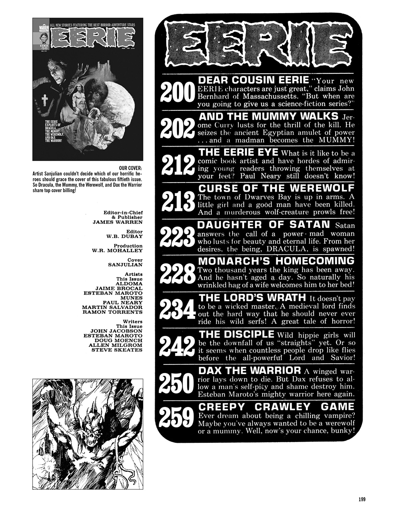 Read online Eerie Archives comic -  Issue # TPB 10 - 200