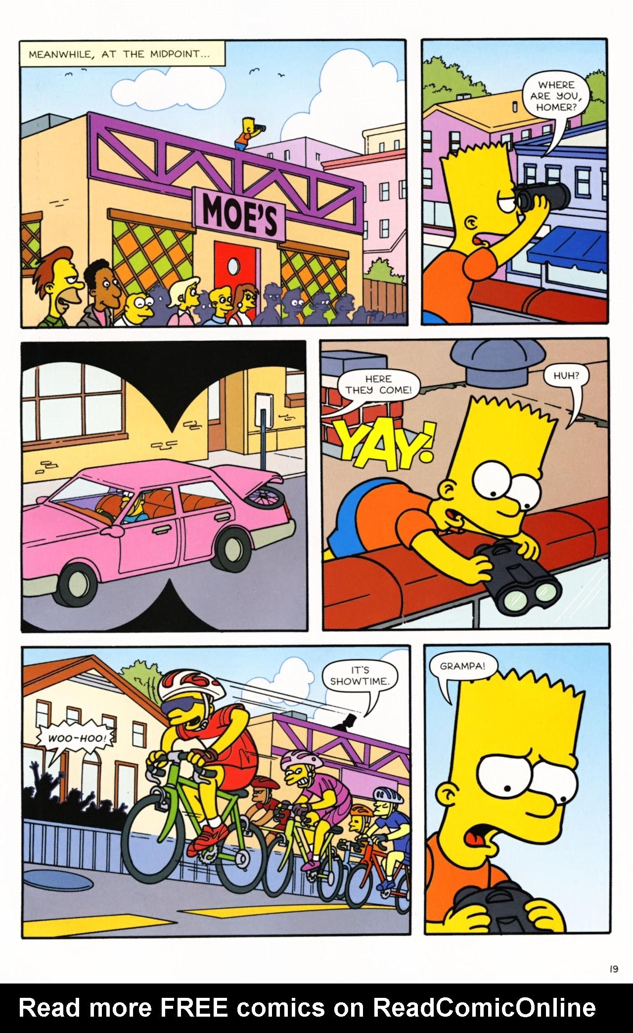 Read online Simpsons Comics comic -  Issue #166 - 16
