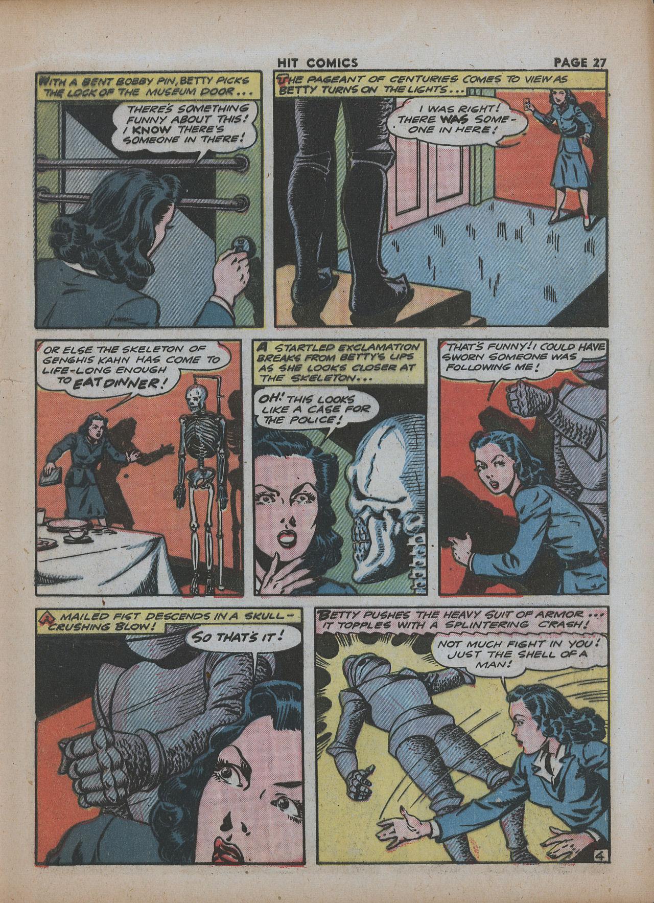 Read online Hit Comics comic -  Issue #26 - 29