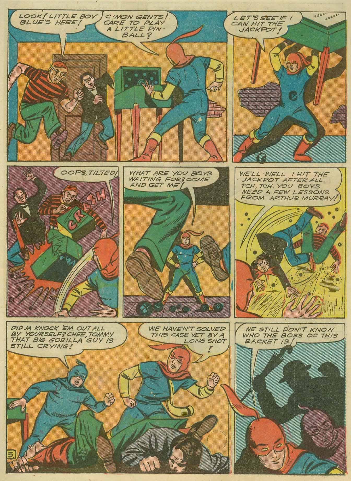 Read online Sensation (Mystery) Comics comic -  Issue #14 - 53