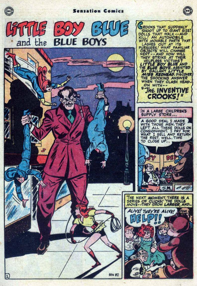 Read online Sensation (Mystery) Comics comic -  Issue #82 - 17