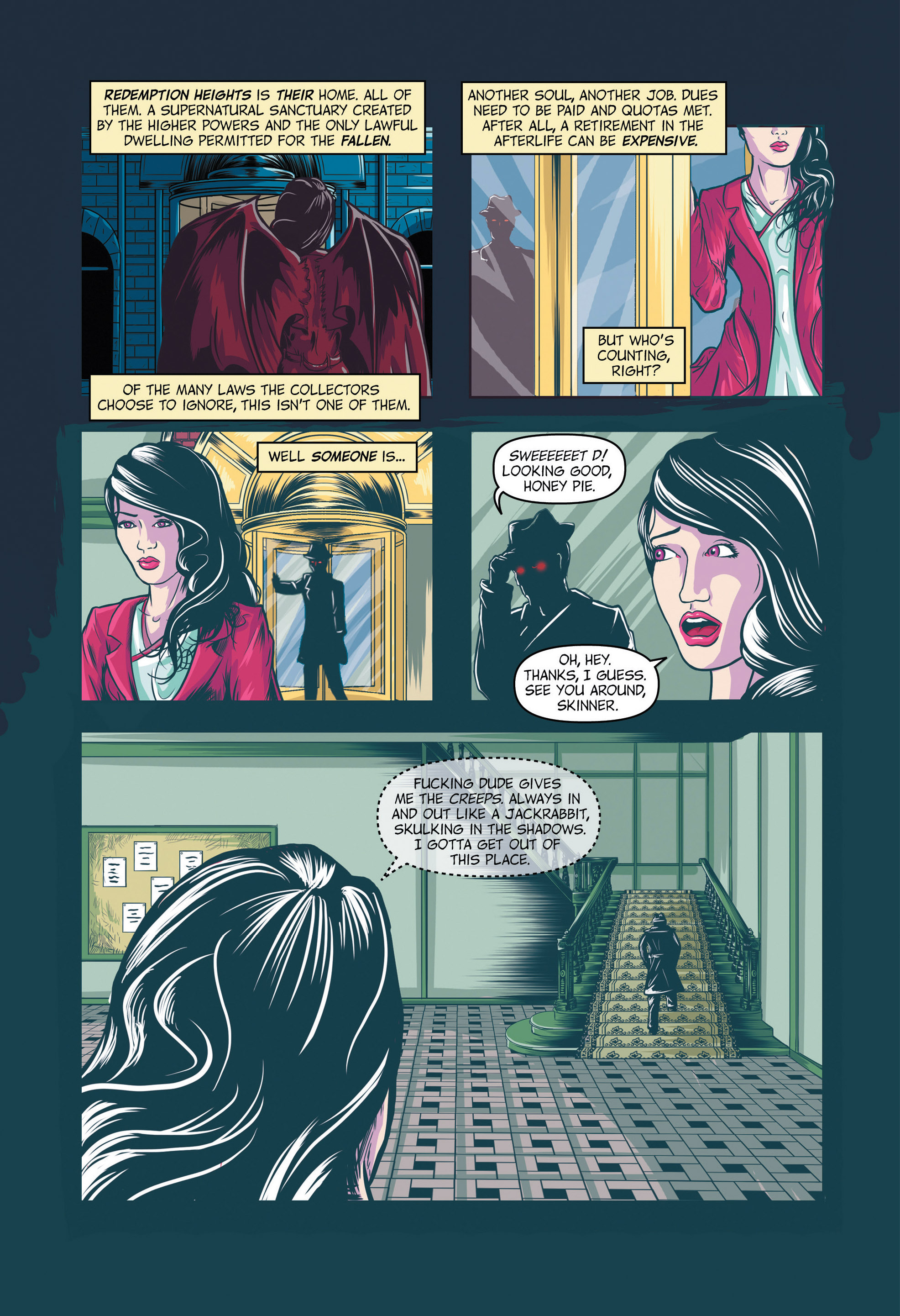 Read online Redemption Heights comic -  Issue # Full - 9