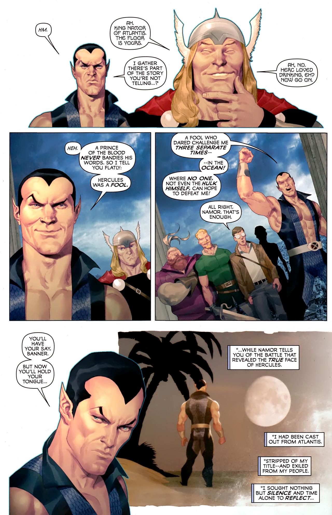 Read online Hercules: Fall of an Avenger comic -  Issue #1 - 13