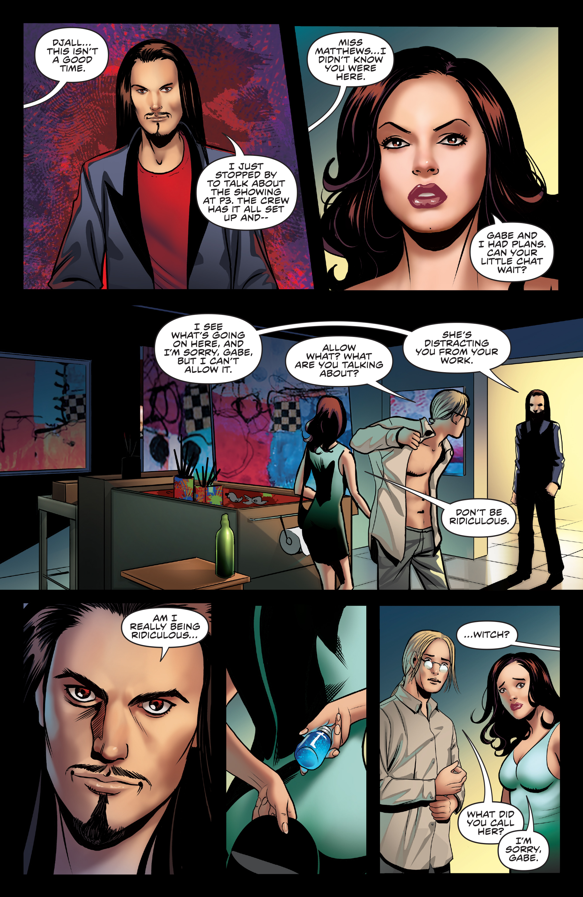 Read online Charmed (2017) comic -  Issue #3 - 24