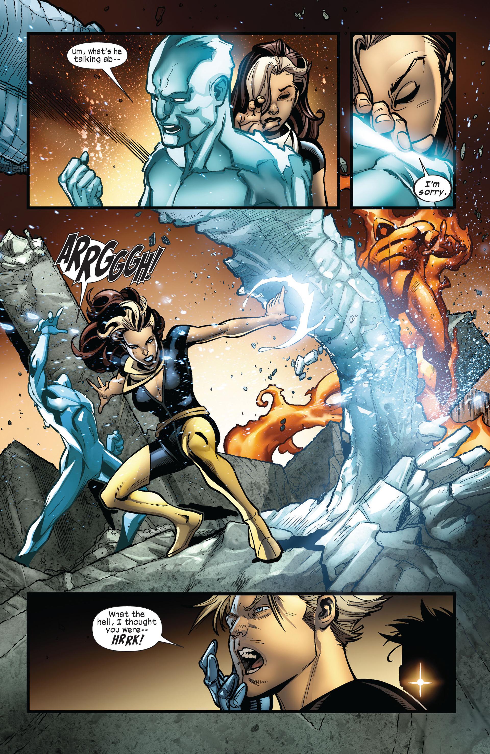 Read online Ultimate Comics X-Men comic -  Issue #5 - 16