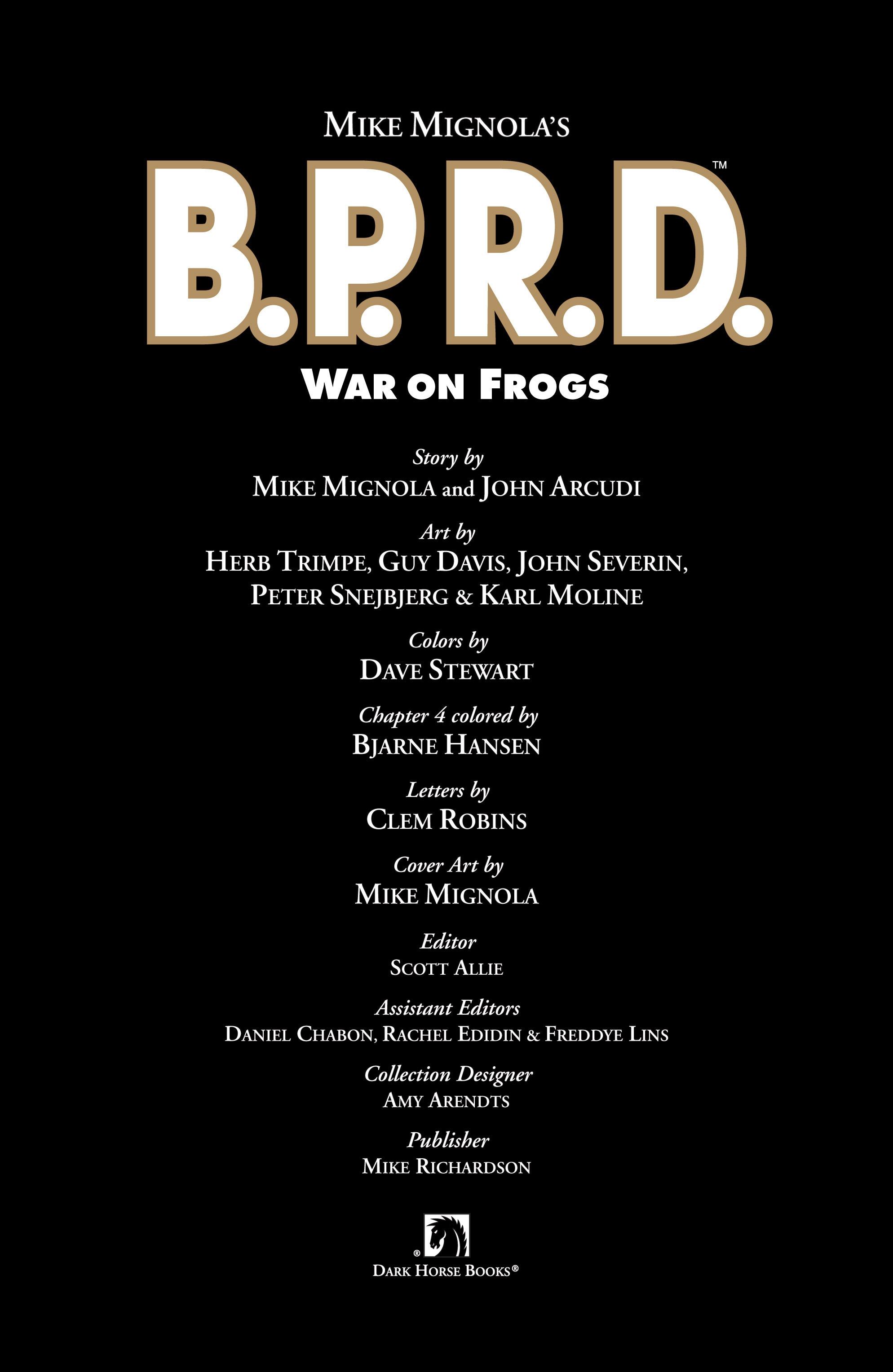 Read online B.P.R.D. (2003) comic -  Issue # TPB 12 - 5