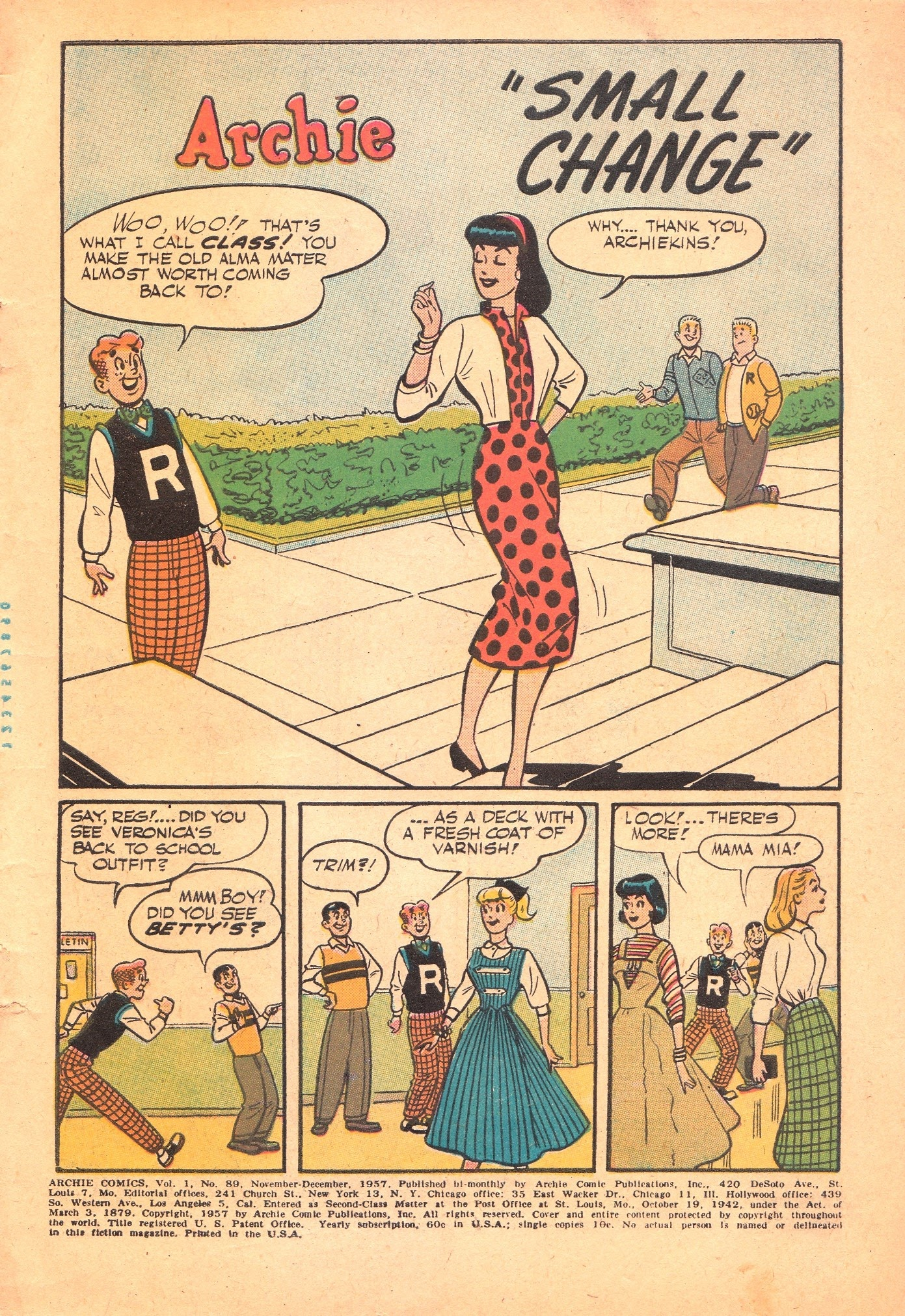 Archie Comics issue 089 - Page 3