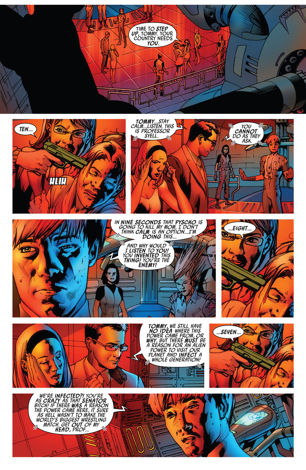 Read online America's Got Powers comic -  Issue #5 - 16