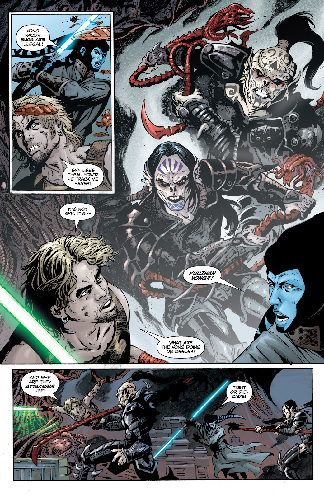 Read online Star Wars Legends: Legacy - Epic Collection comic -  Issue # TPB 1 (Part 3) - 93