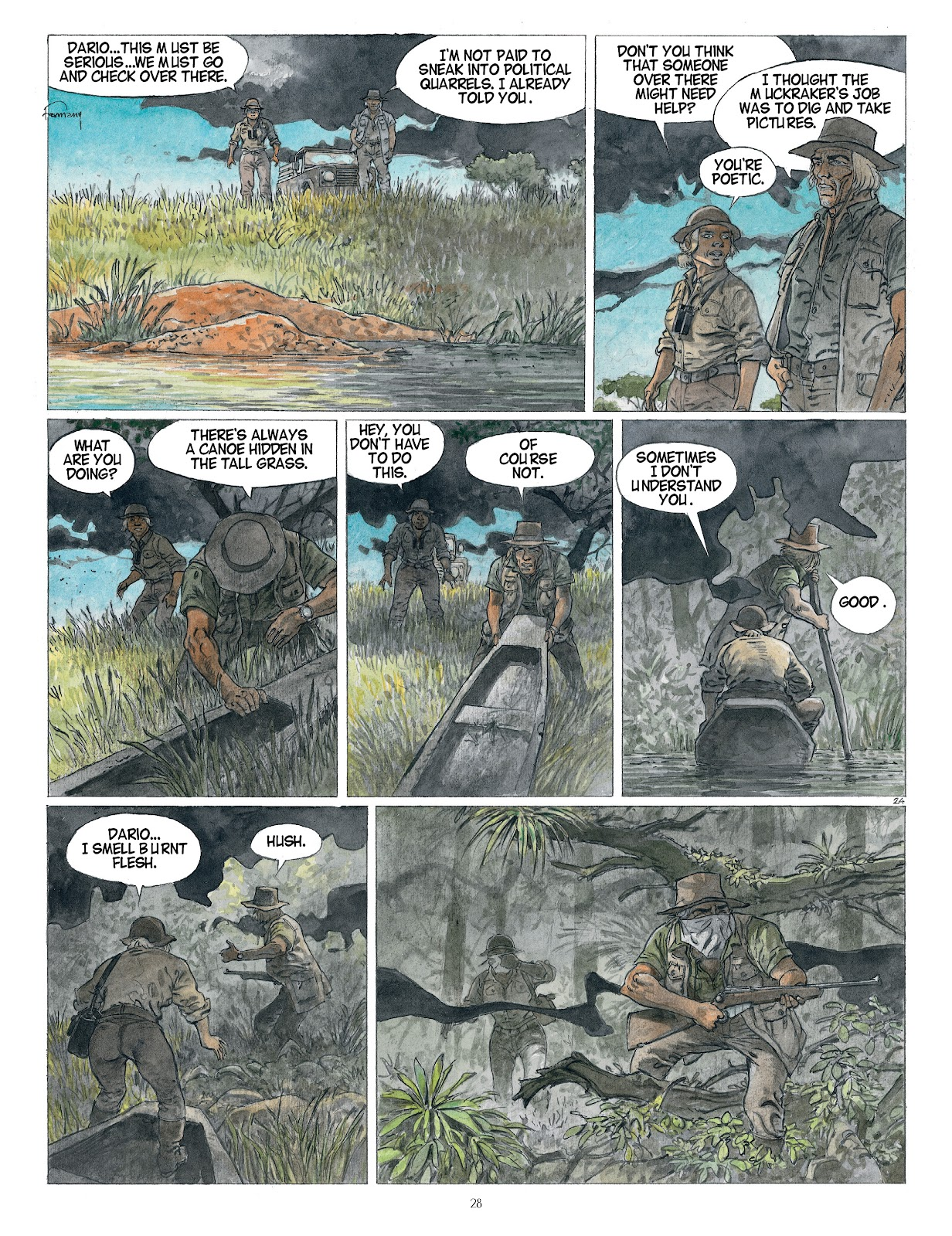 Read online Afrika comic -  Issue # TPB - 28