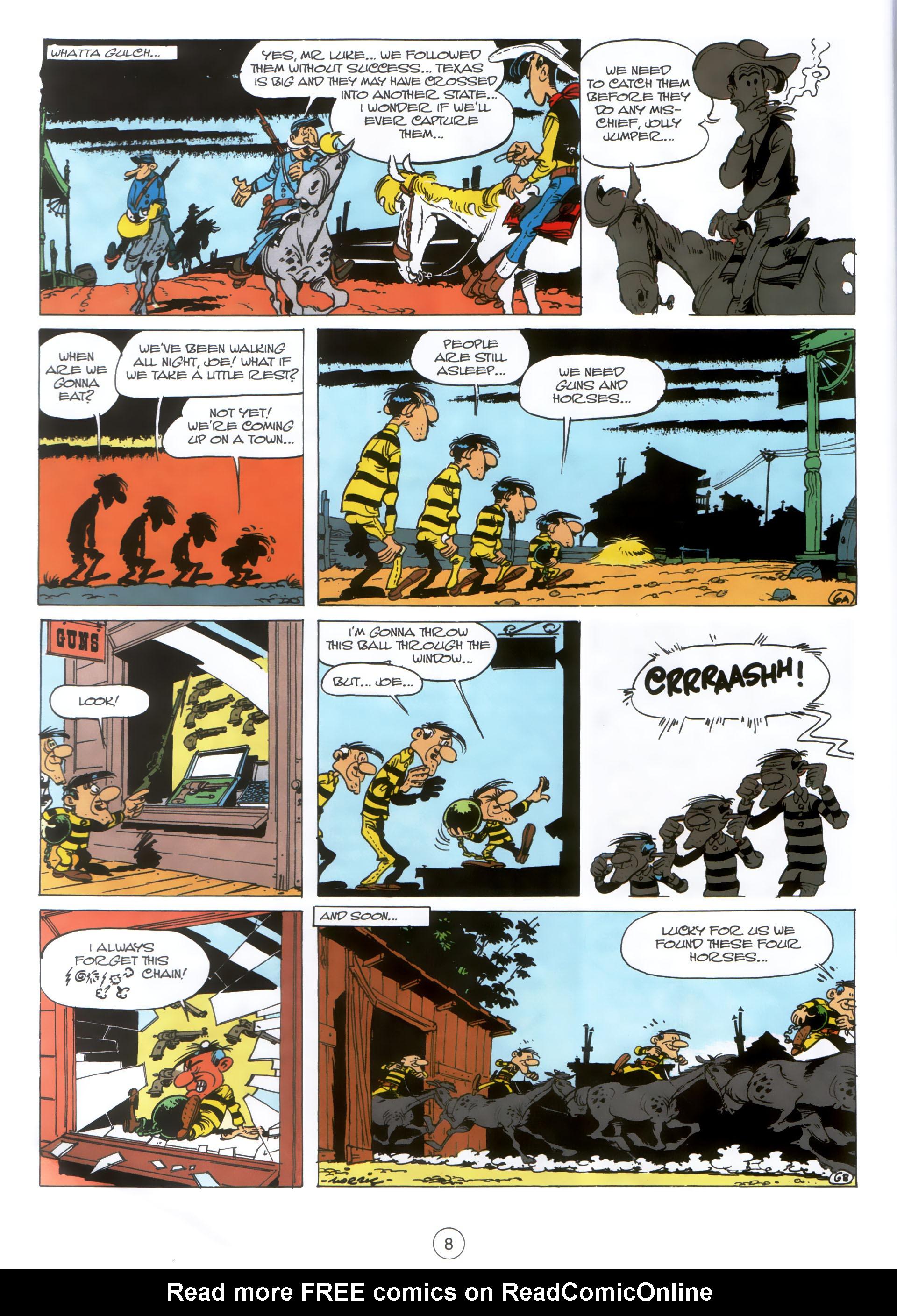 Read online A Lucky Luke Adventure comic -  Issue #30 - 7