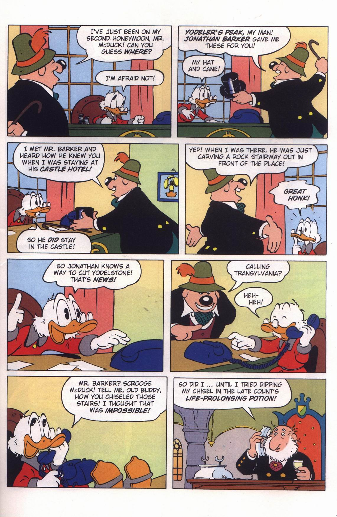 Read online Uncle Scrooge (1953) comic -  Issue #313 - 33
