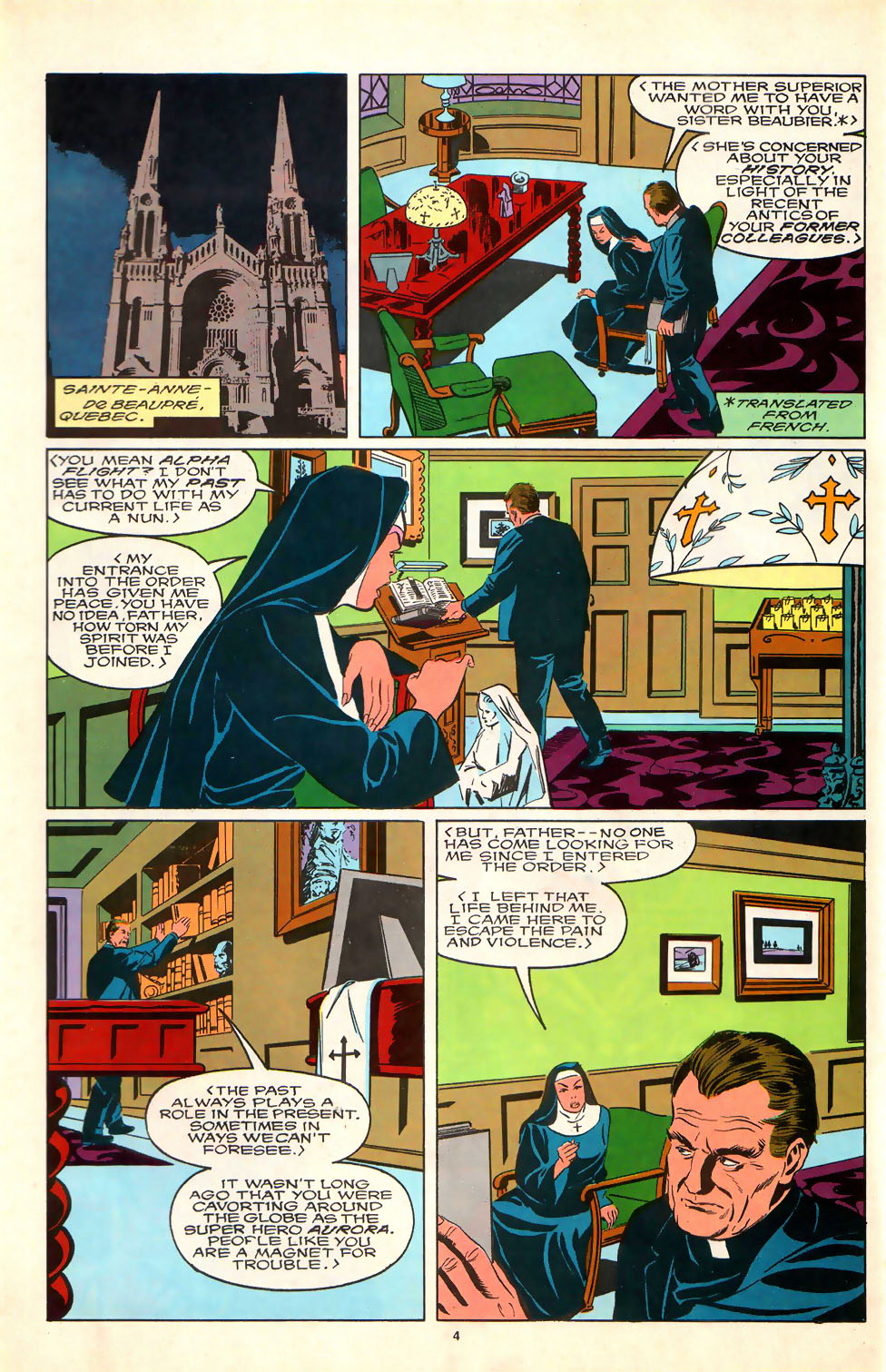 Read online Alpha Flight (1983) comic -  Issue #81 - 5