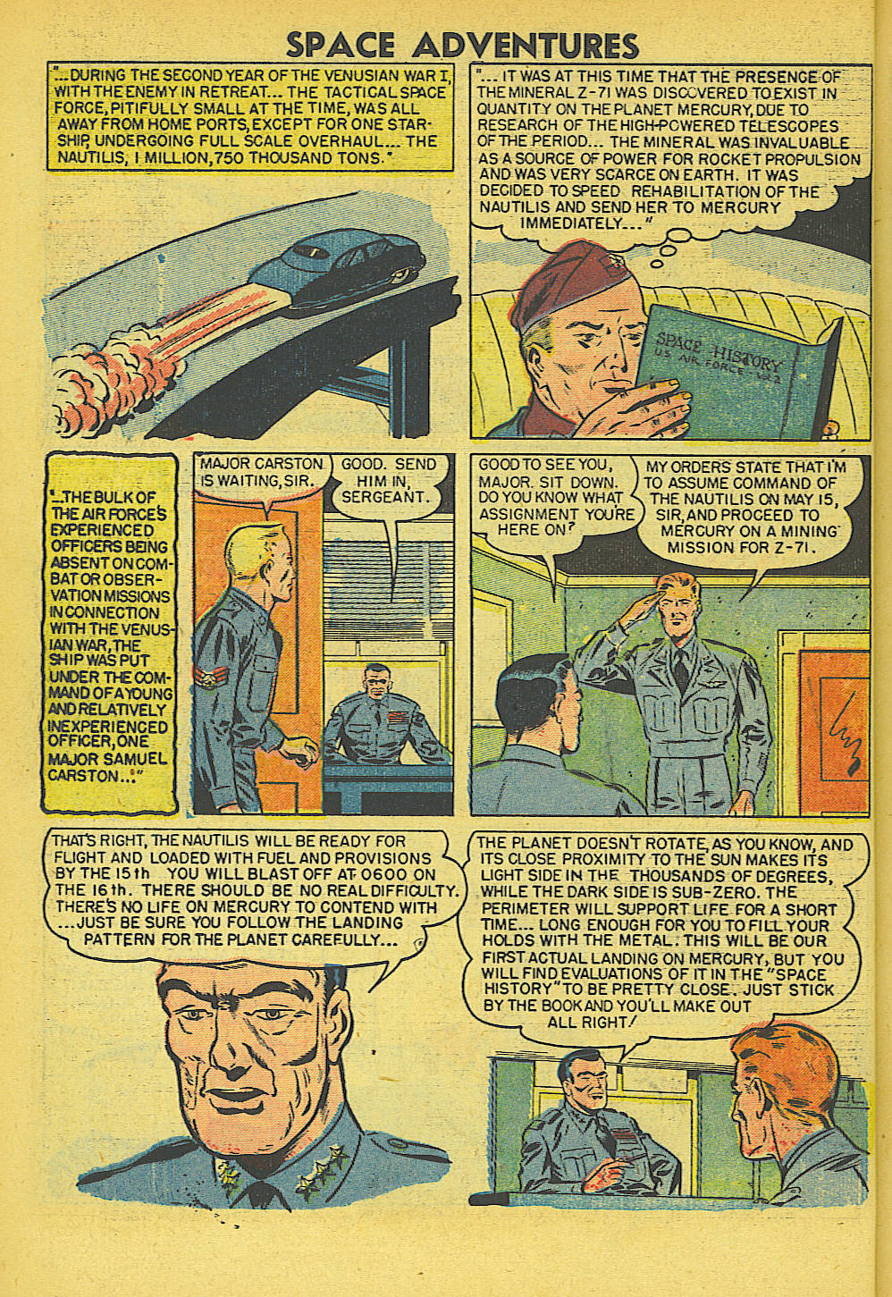 Space Adventures (1952) issue 5 - Page 5