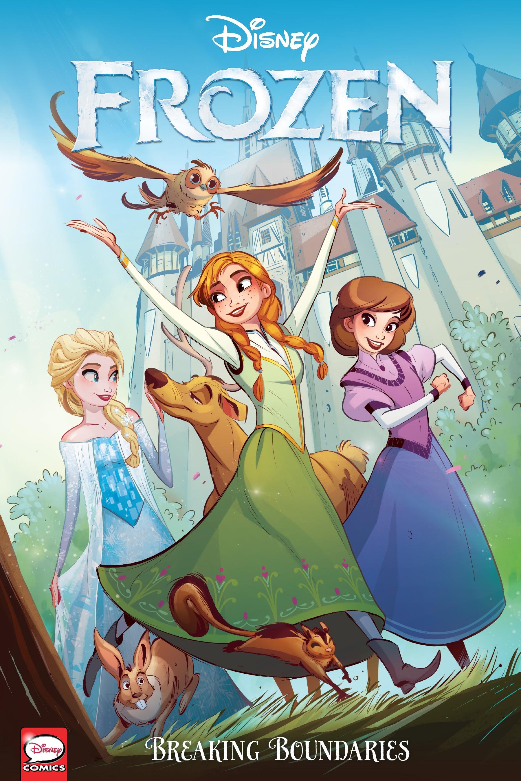 Disney Frozen: Breaking Boundaries _TPB Page 1