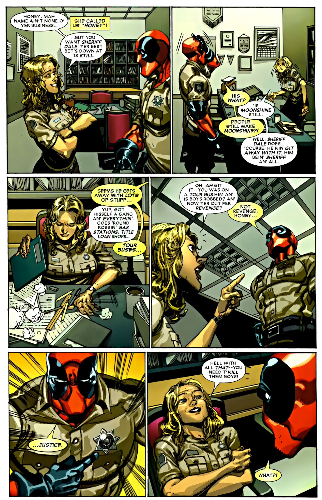 Read online Deadpool (2008) comic -  Issue #22 - 15
