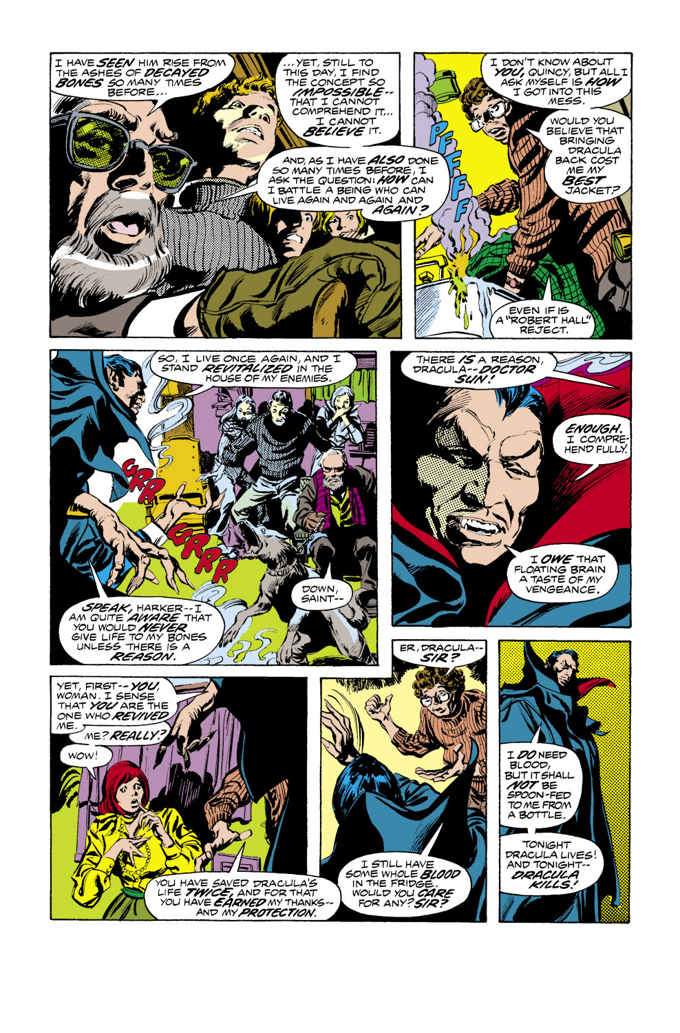 Tomb of Dracula (1972) issue 41 - Page 6