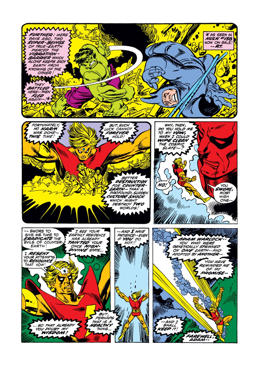 Warlock (1972) issue 3 - Page 6