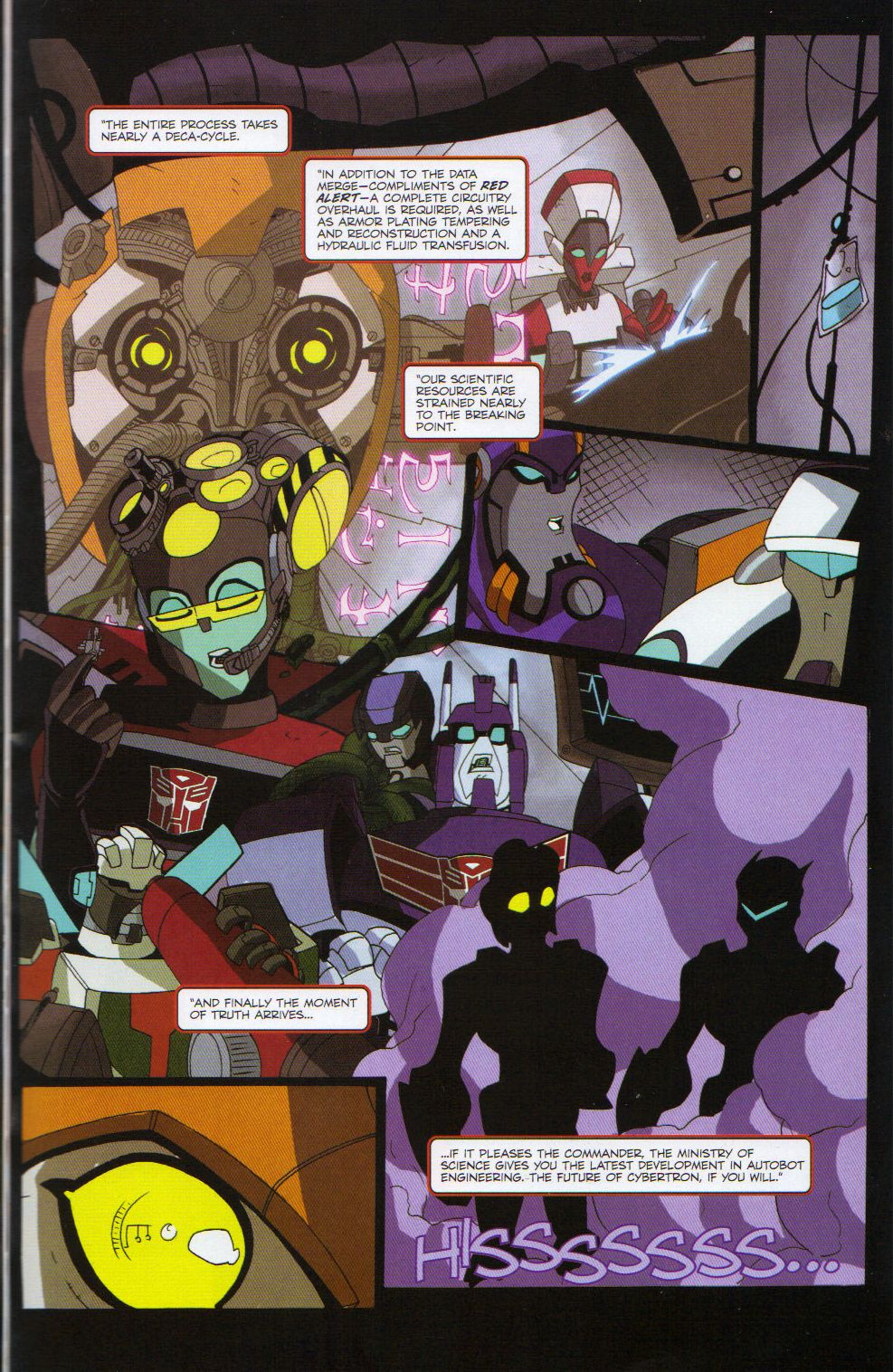 Read online Transformers Animated: The Arrival comic -  Issue #6 - 9