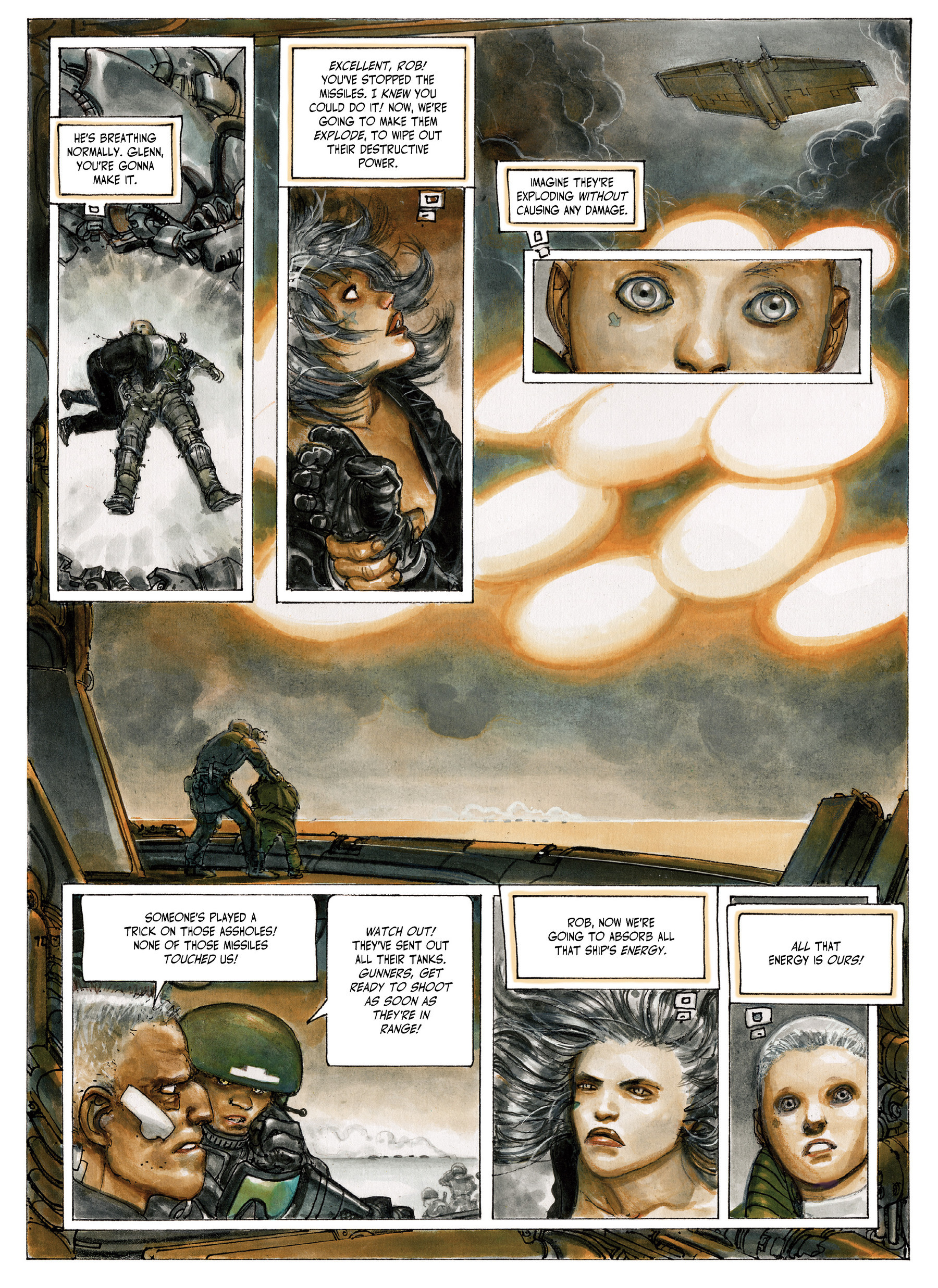 Read online The Fourth Power comic -  Issue #4 - 50