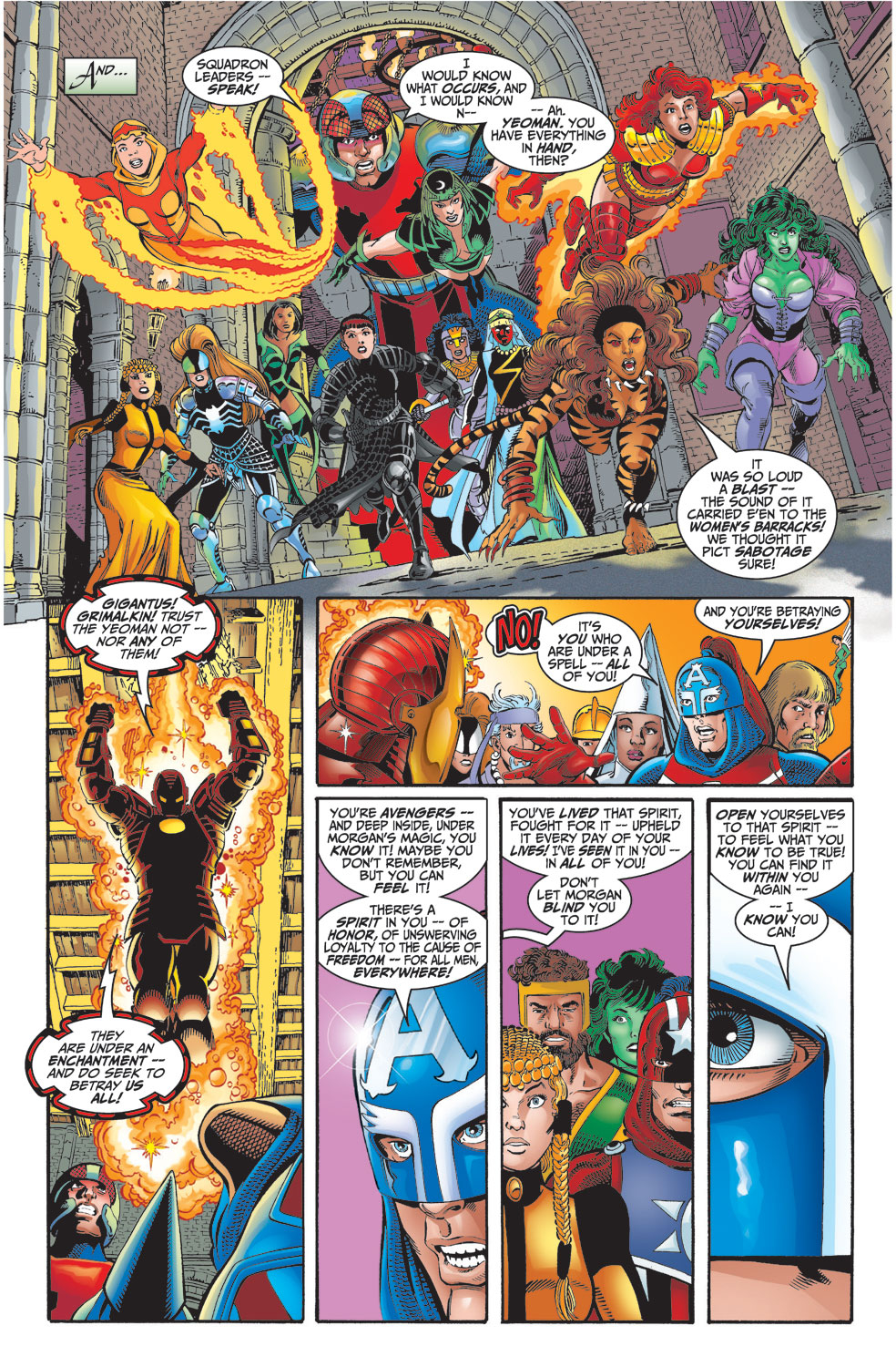 Read online Avengers (1998) comic -  Issue #2 - 13