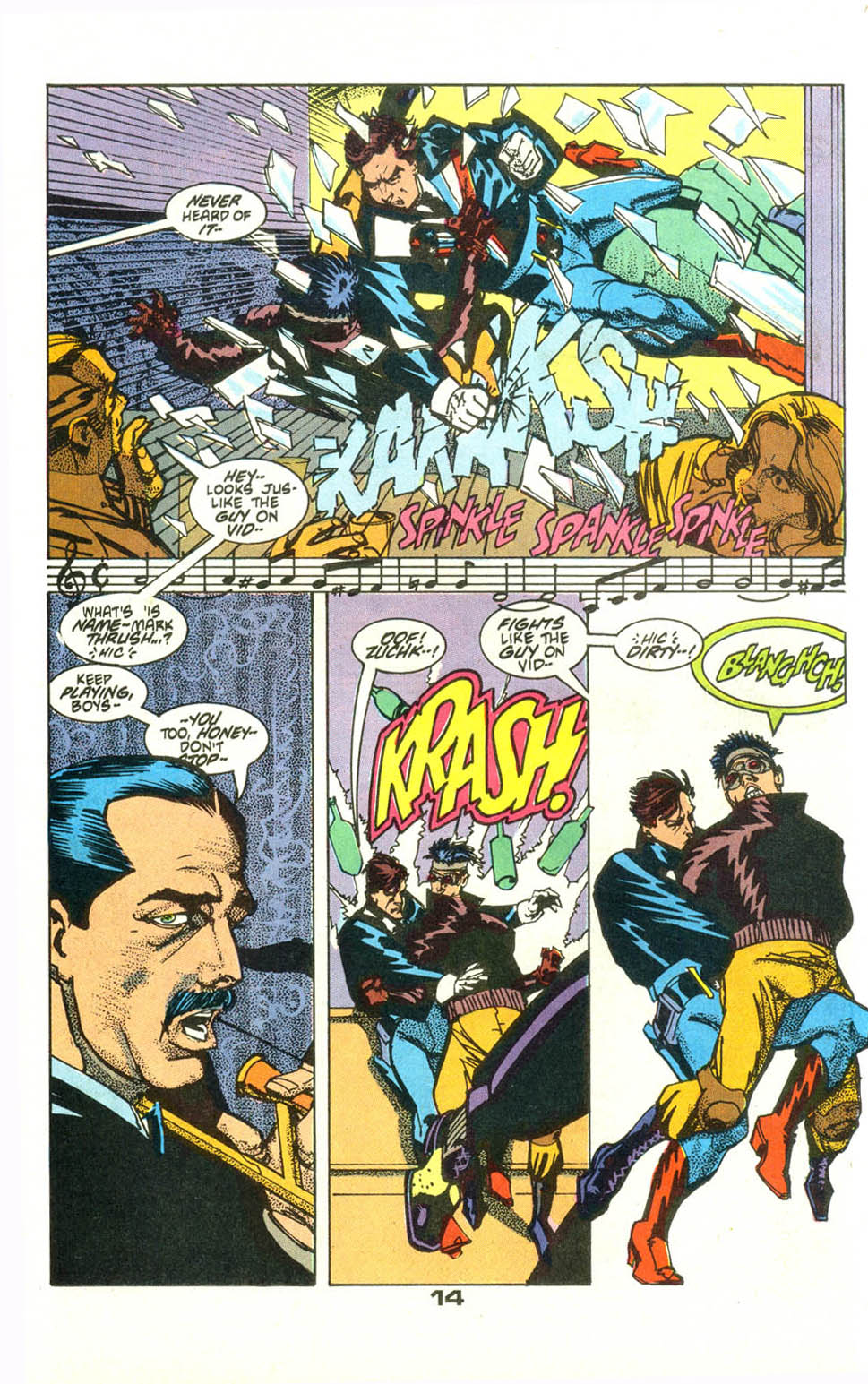 Read online American Flagg! comic -  Issue #23 - 16