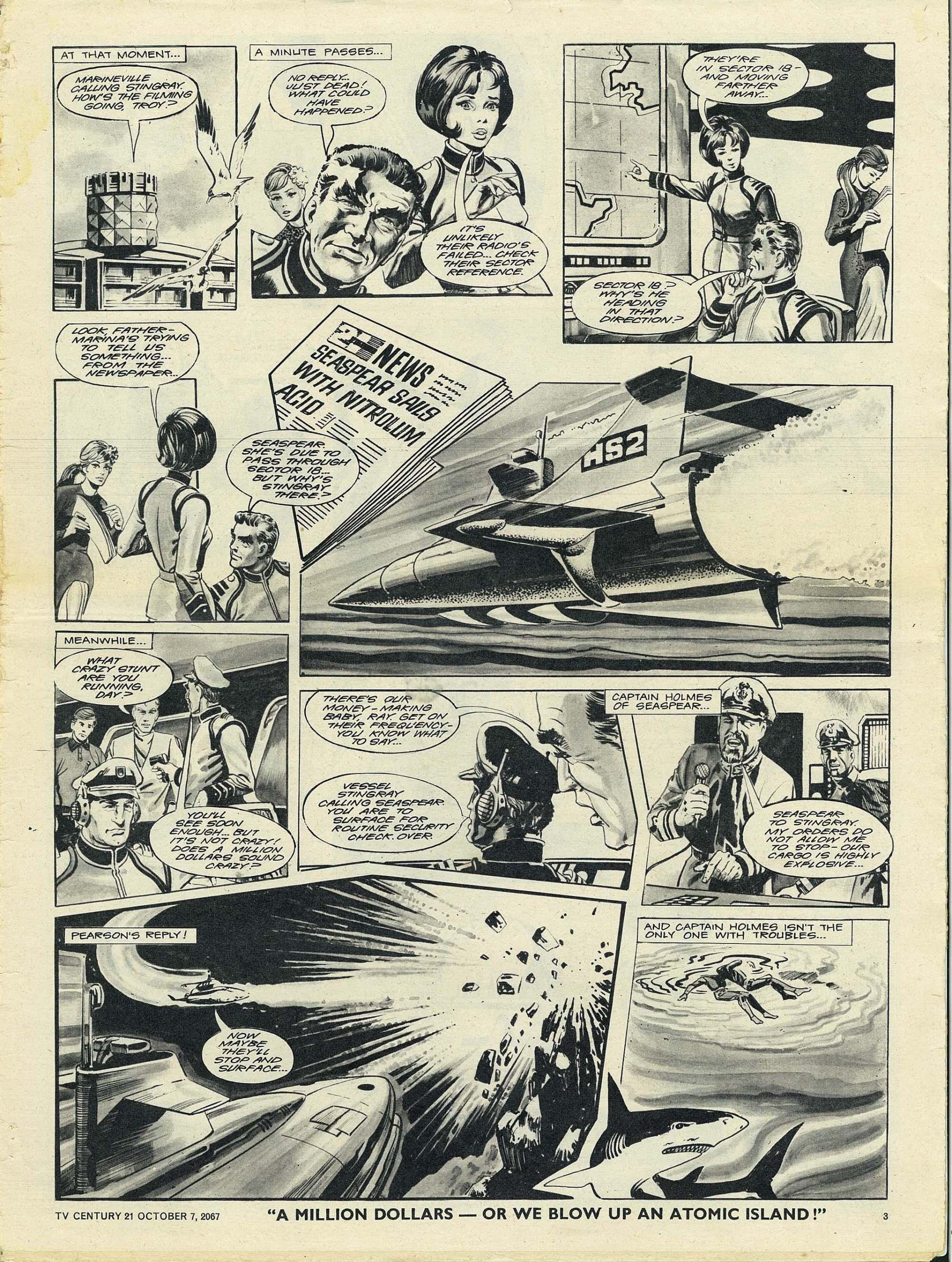 Read online TV Century 21 (TV 21) comic -  Issue #142 - 3