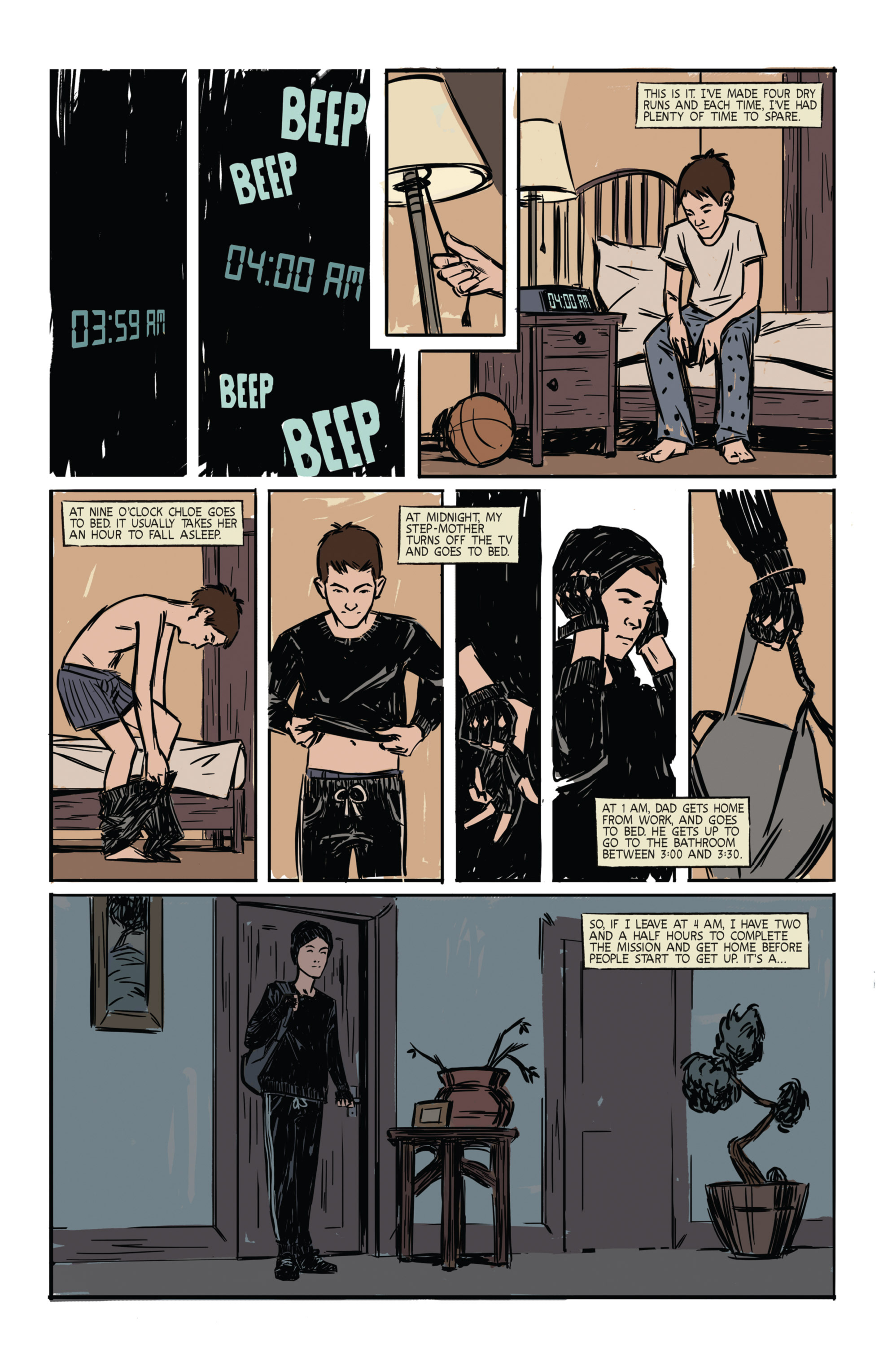 Read online Night Owl Society comic -  Issue #1 - 3