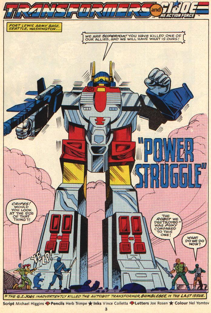The Transformers (UK) 269 Page 2